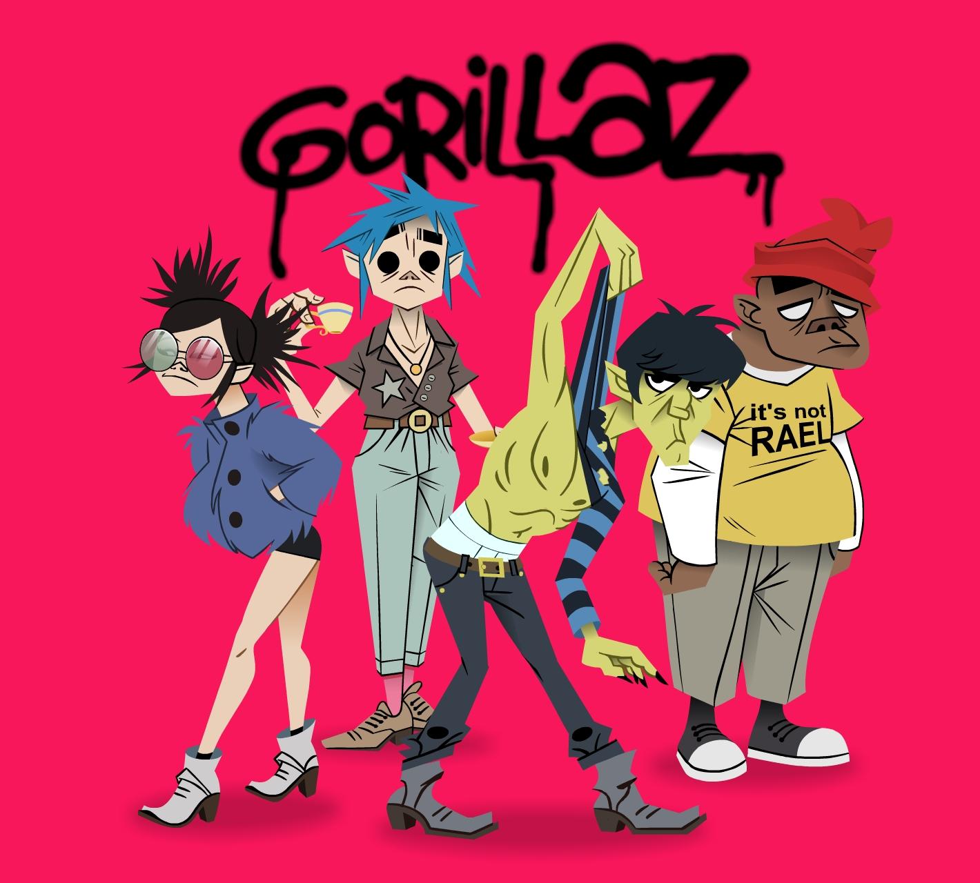 Gorillaz Tea Party
