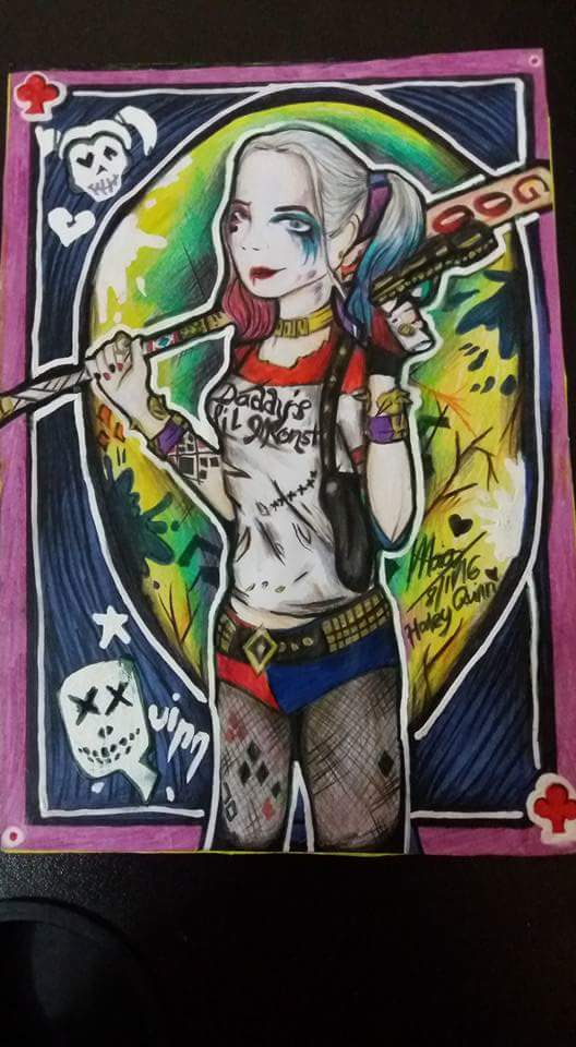 My Last year's attempt on Harley Quinn