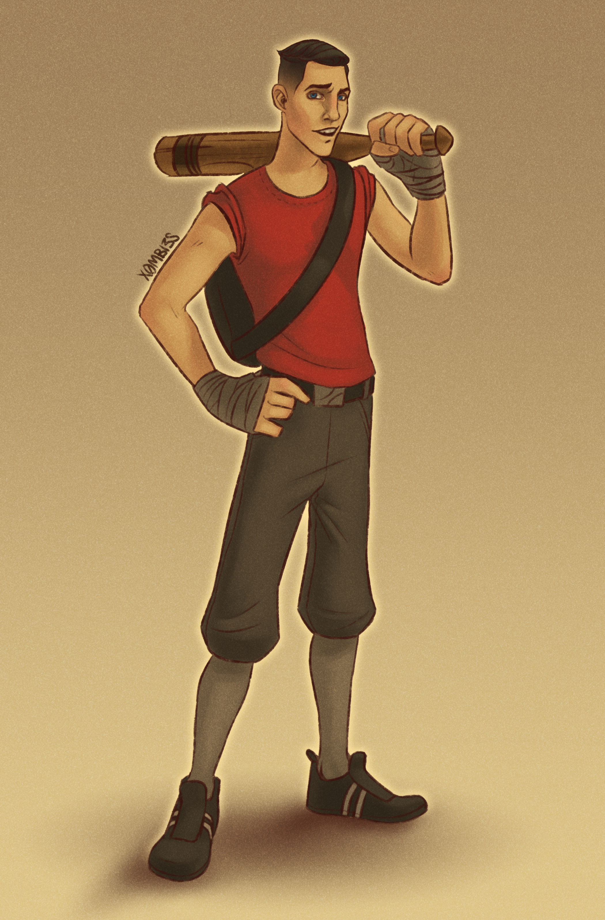 Team Fortress 2 Scout By X0mbi3s On Newgrounds