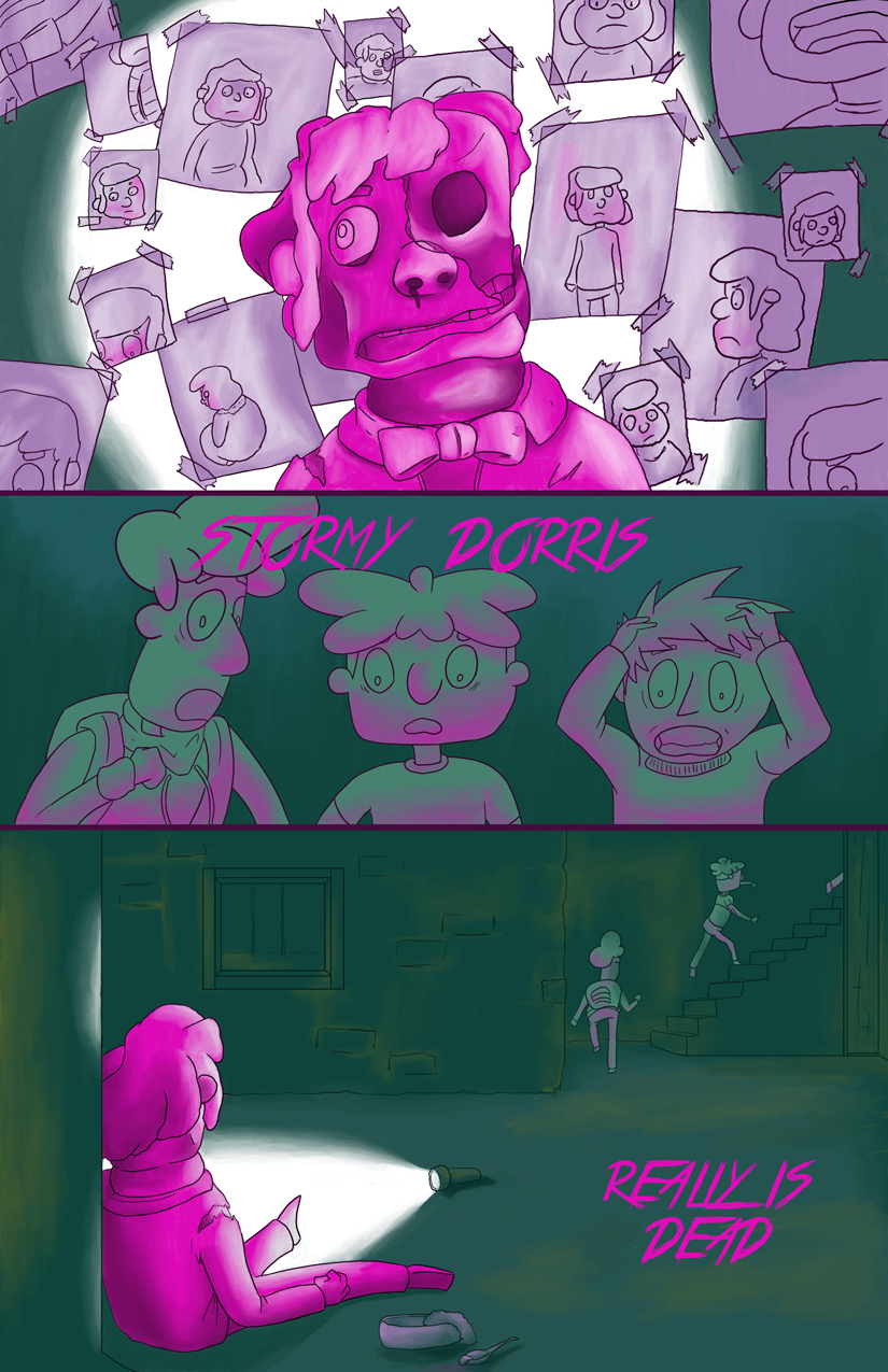 The Mystery of Stormy Dorris - page 4