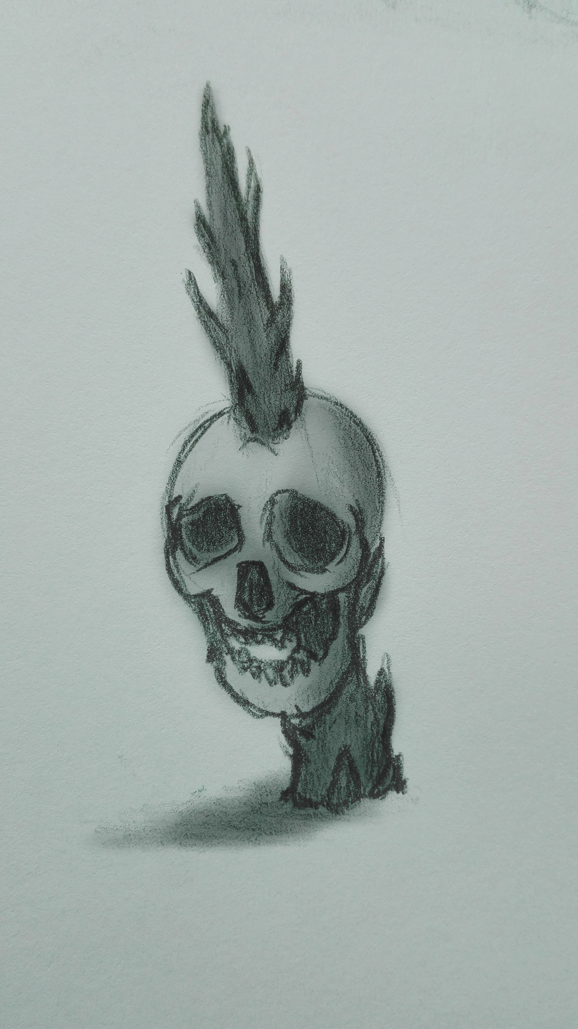 Pierced Skull