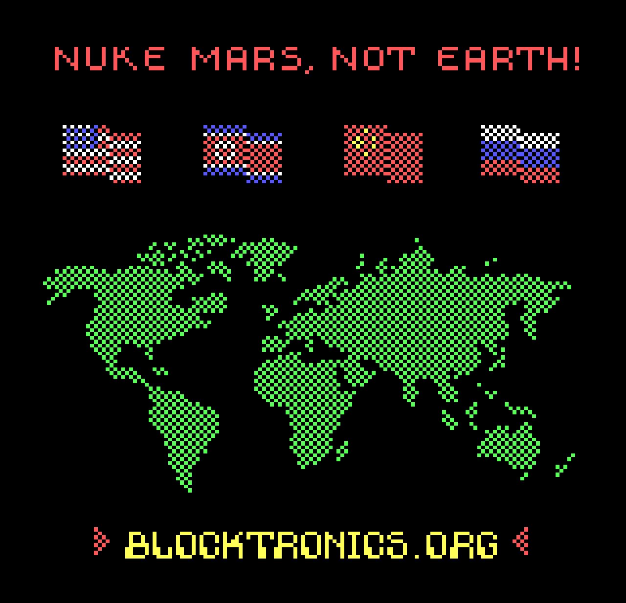 Nuke Mars, Not Earth!