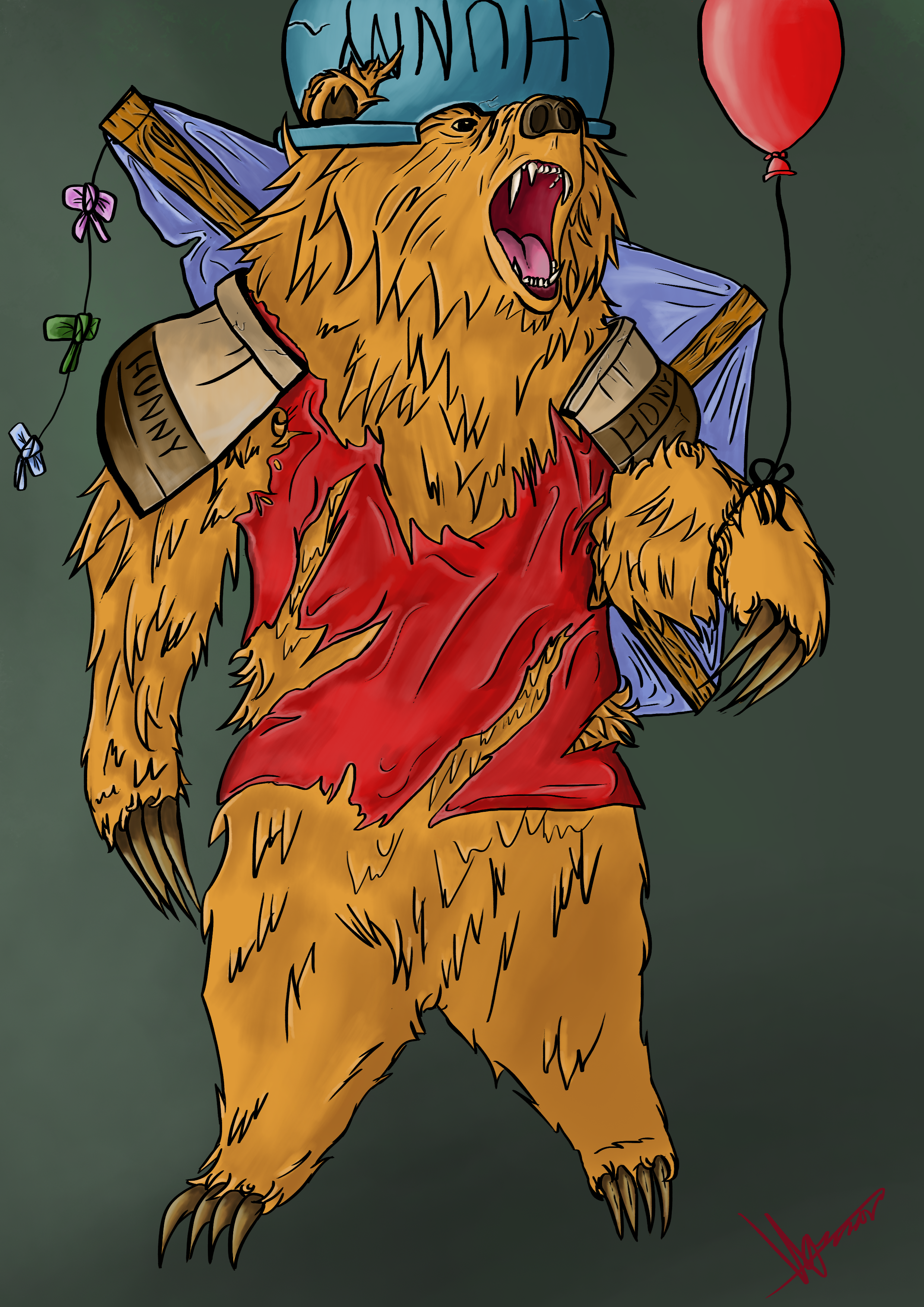 Winnie the Pooh if he was level 99
