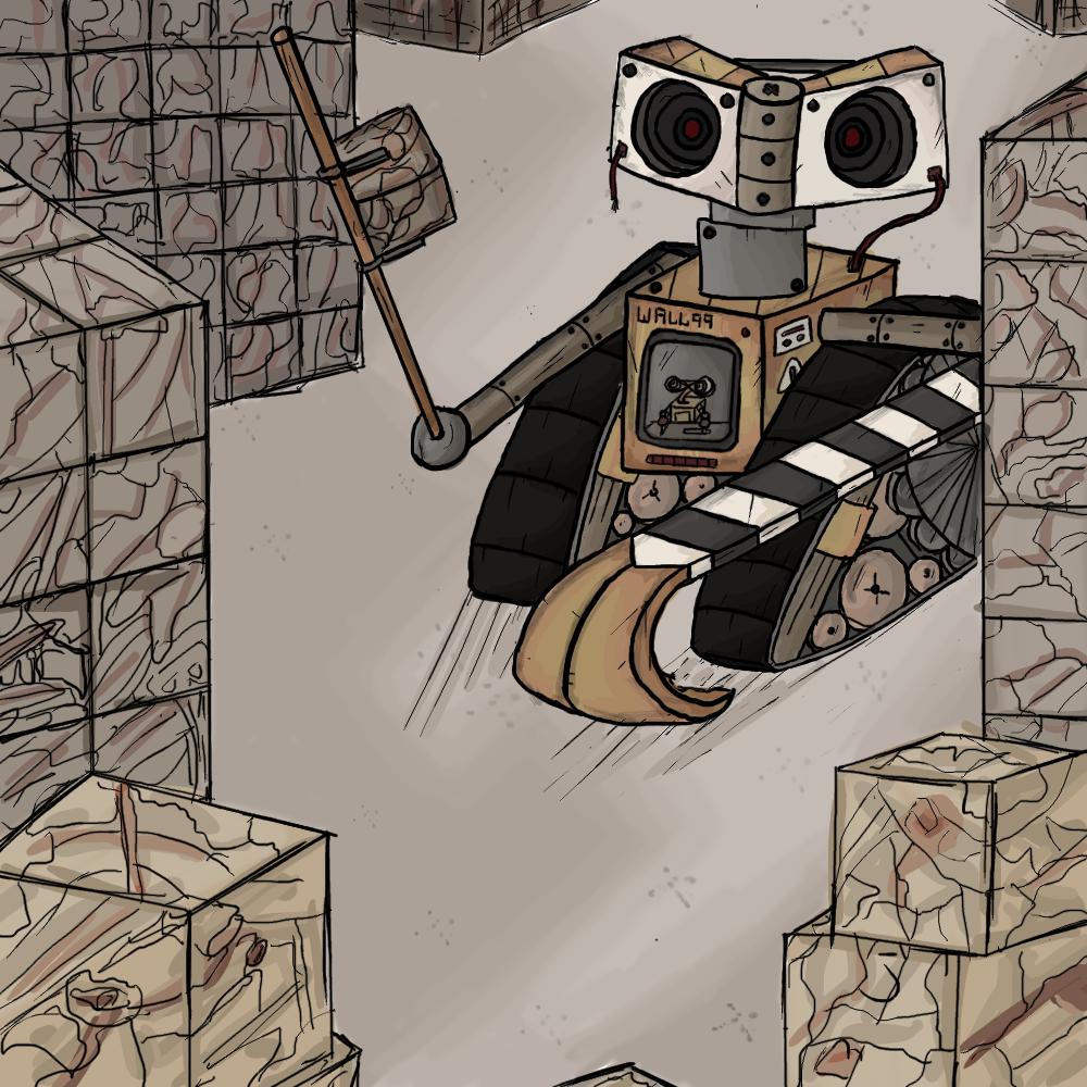 Wall-E gets an upgrade