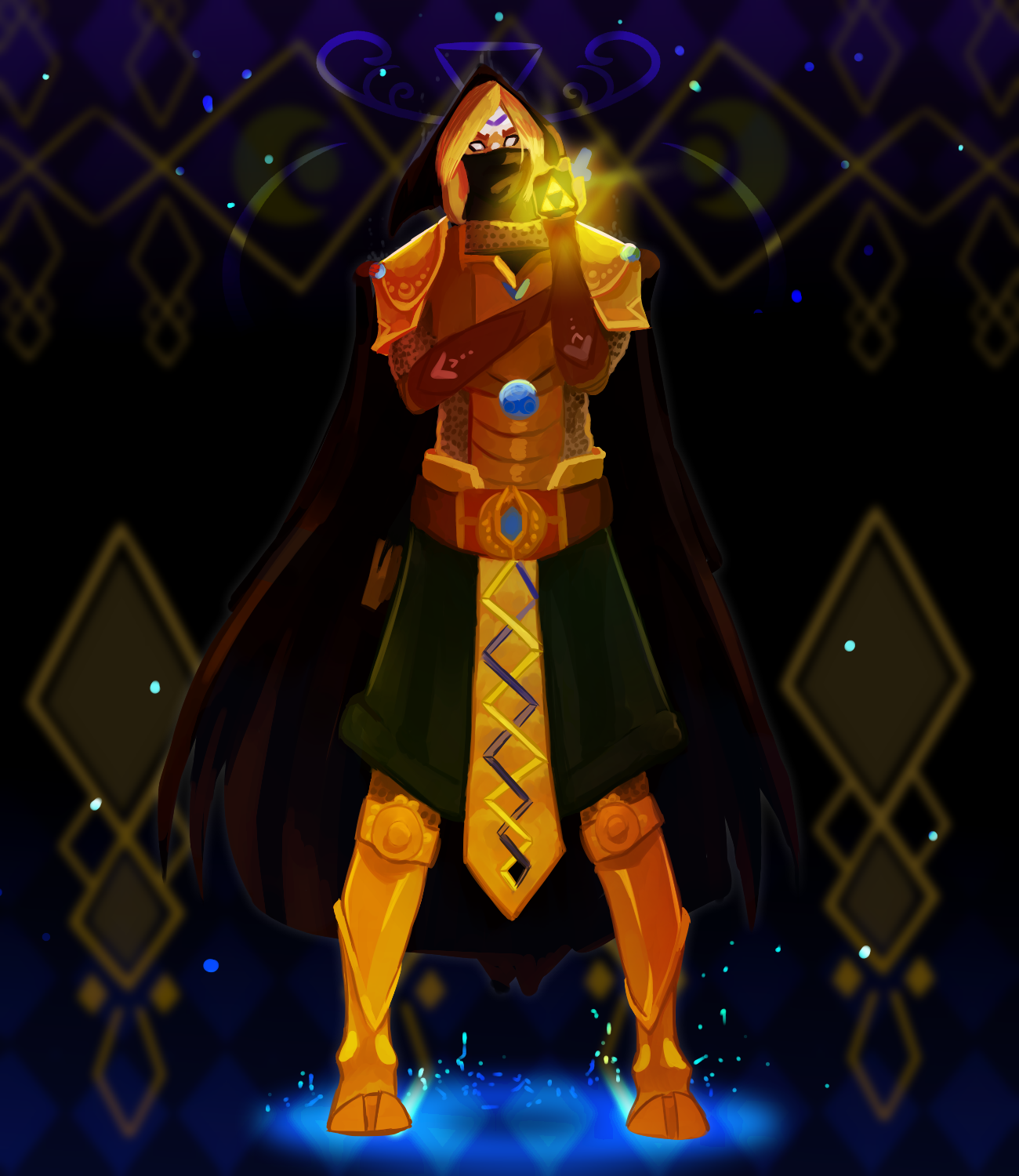 LVL99 COTM Entry - Guardian of the Triforce