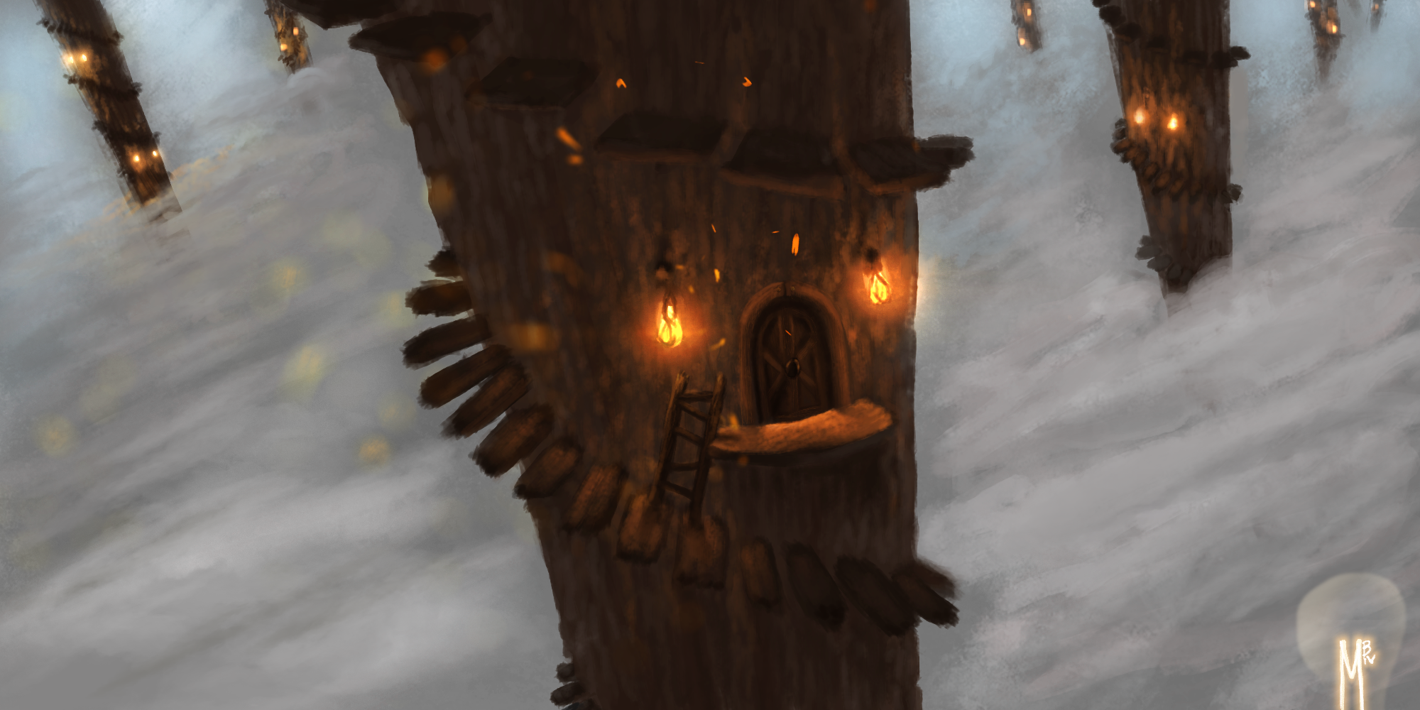 Lofty Treehouses Concept