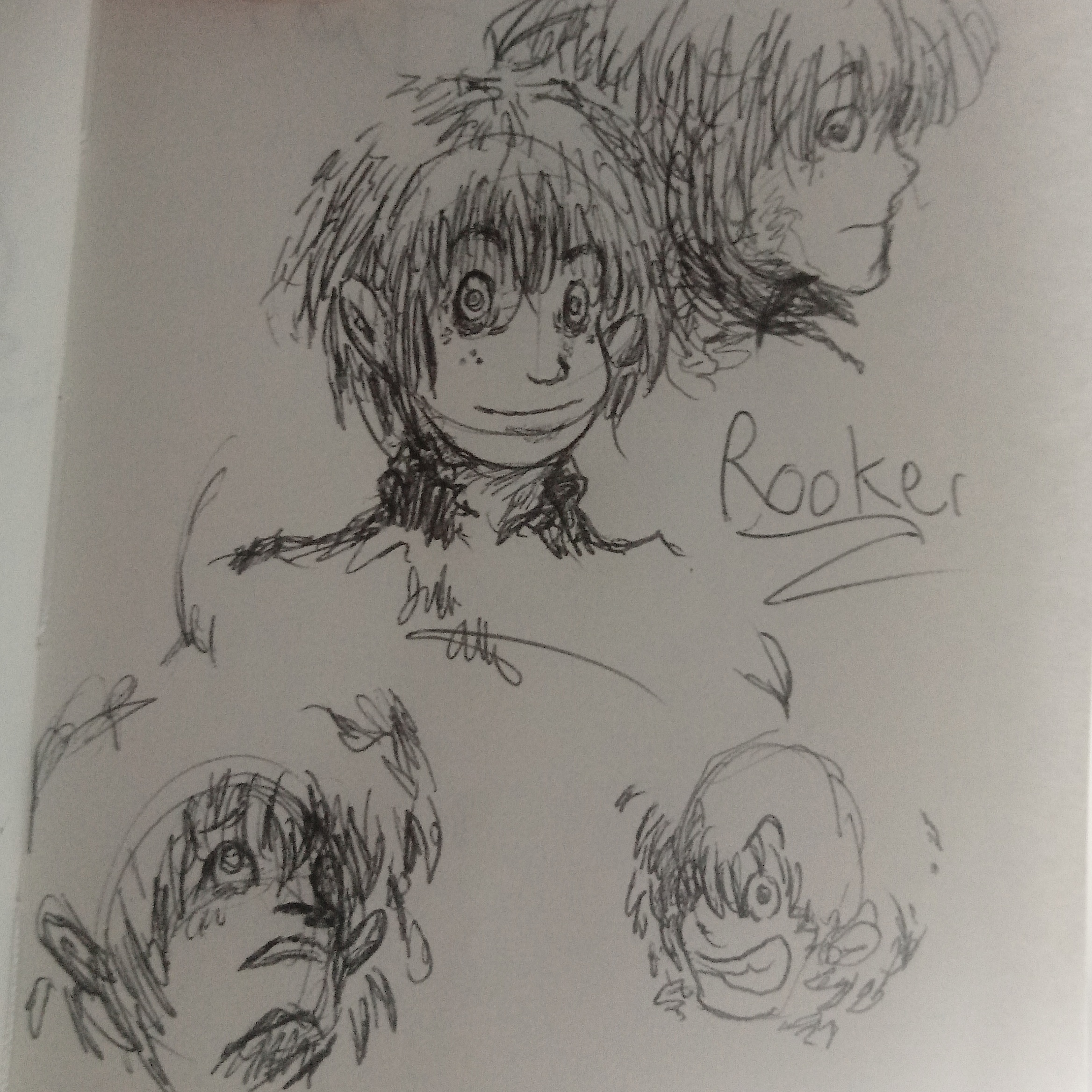 Rooker Sketches