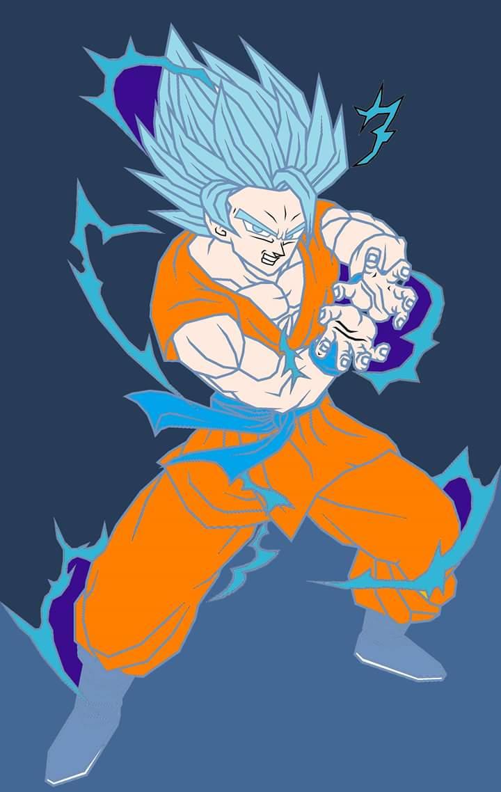 Goku full power super saiyan blue