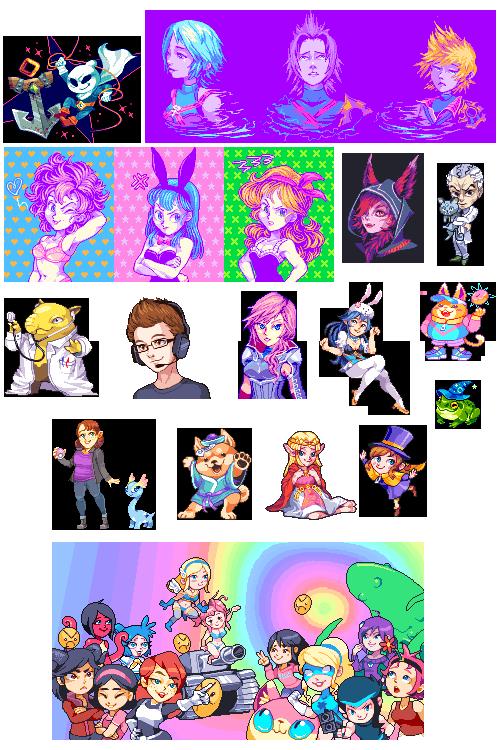 April Pixel Art Comp