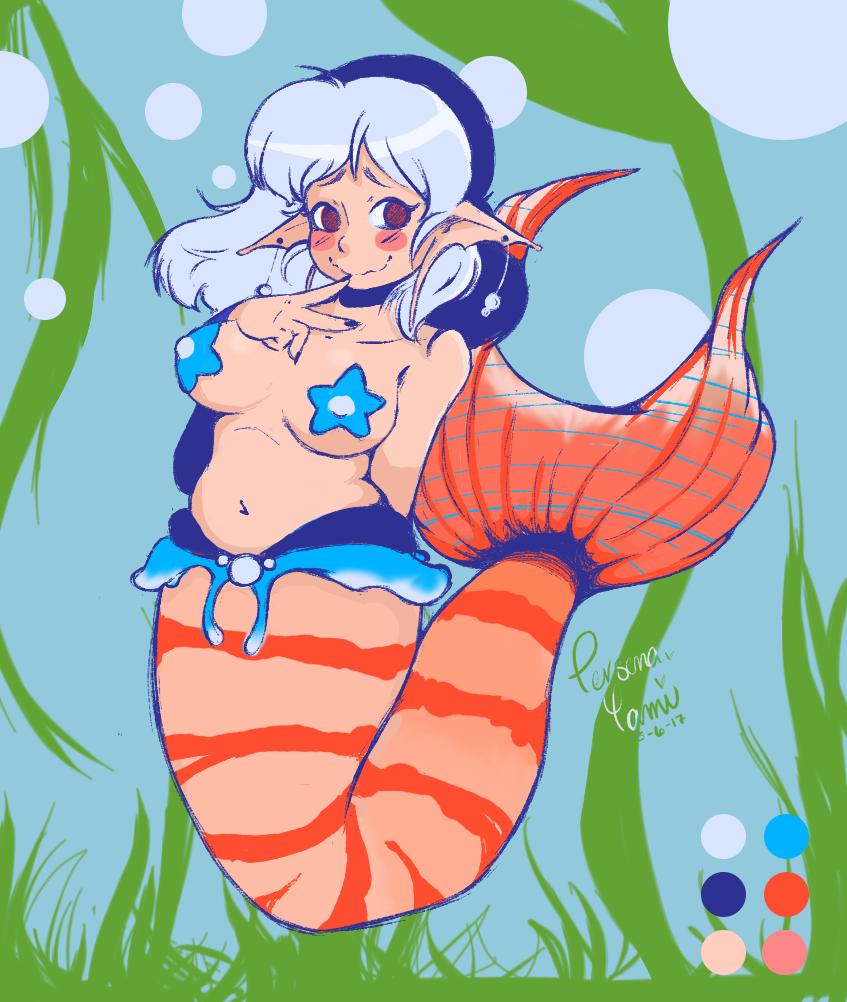 Koi Sword Mermaid