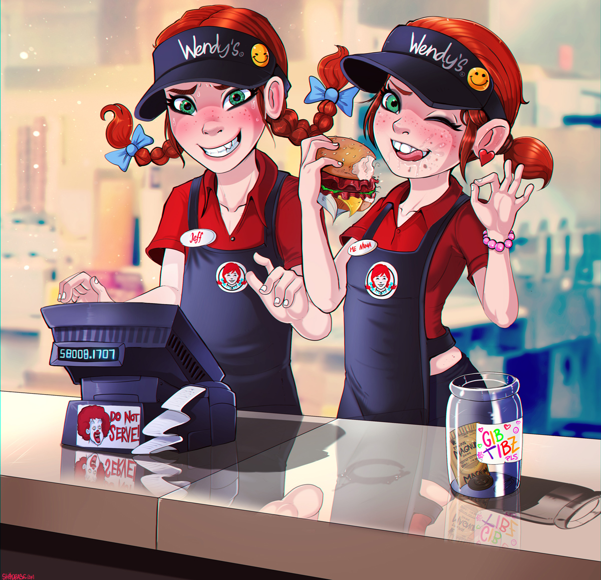 Smol Wendy's Employees