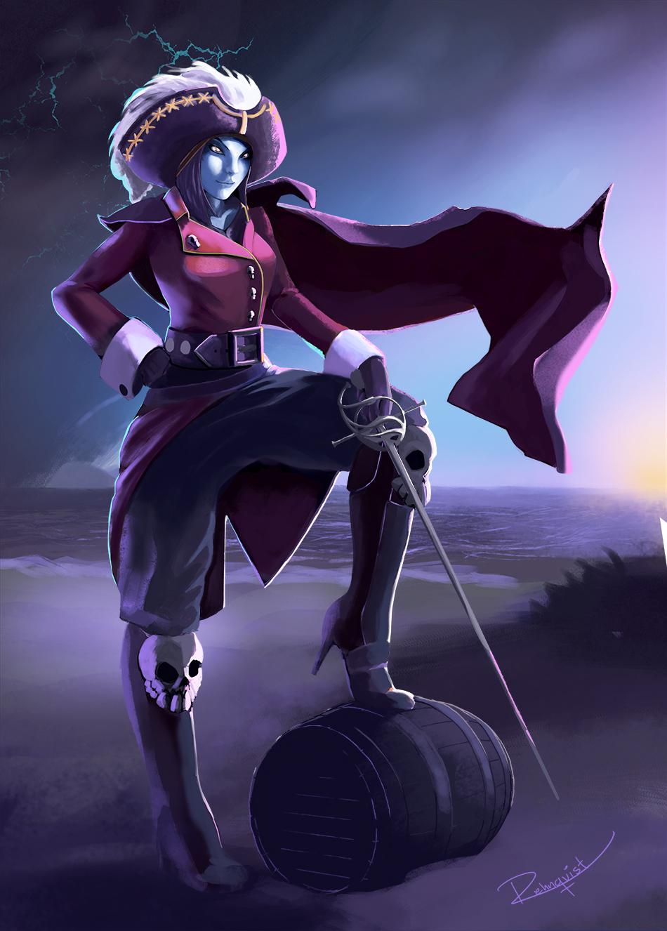 Captain Morgan Undead Female Edition By B Rehnqvist On