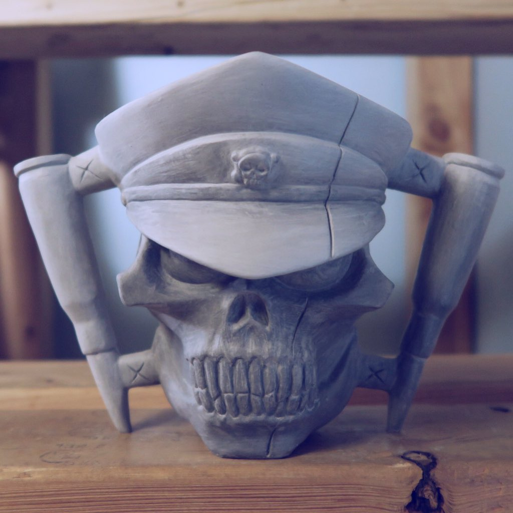 Shadbase Skull Mug