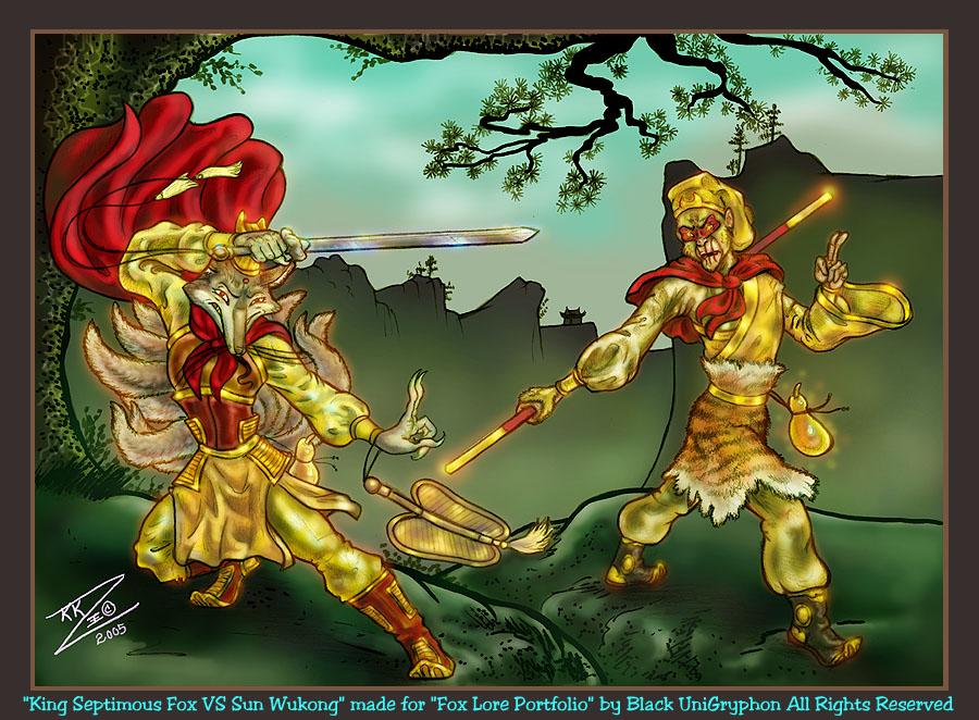 Wukong VS King Septimous Fox