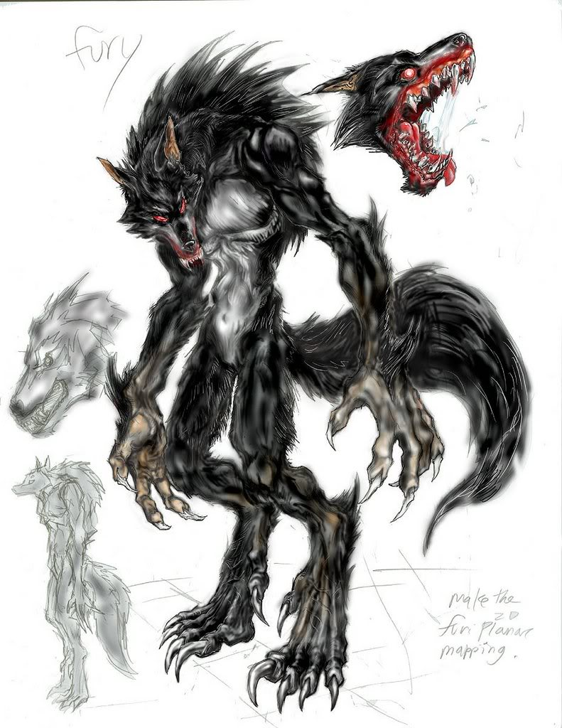 Werewolf By Tankman2008 On Newgrounds