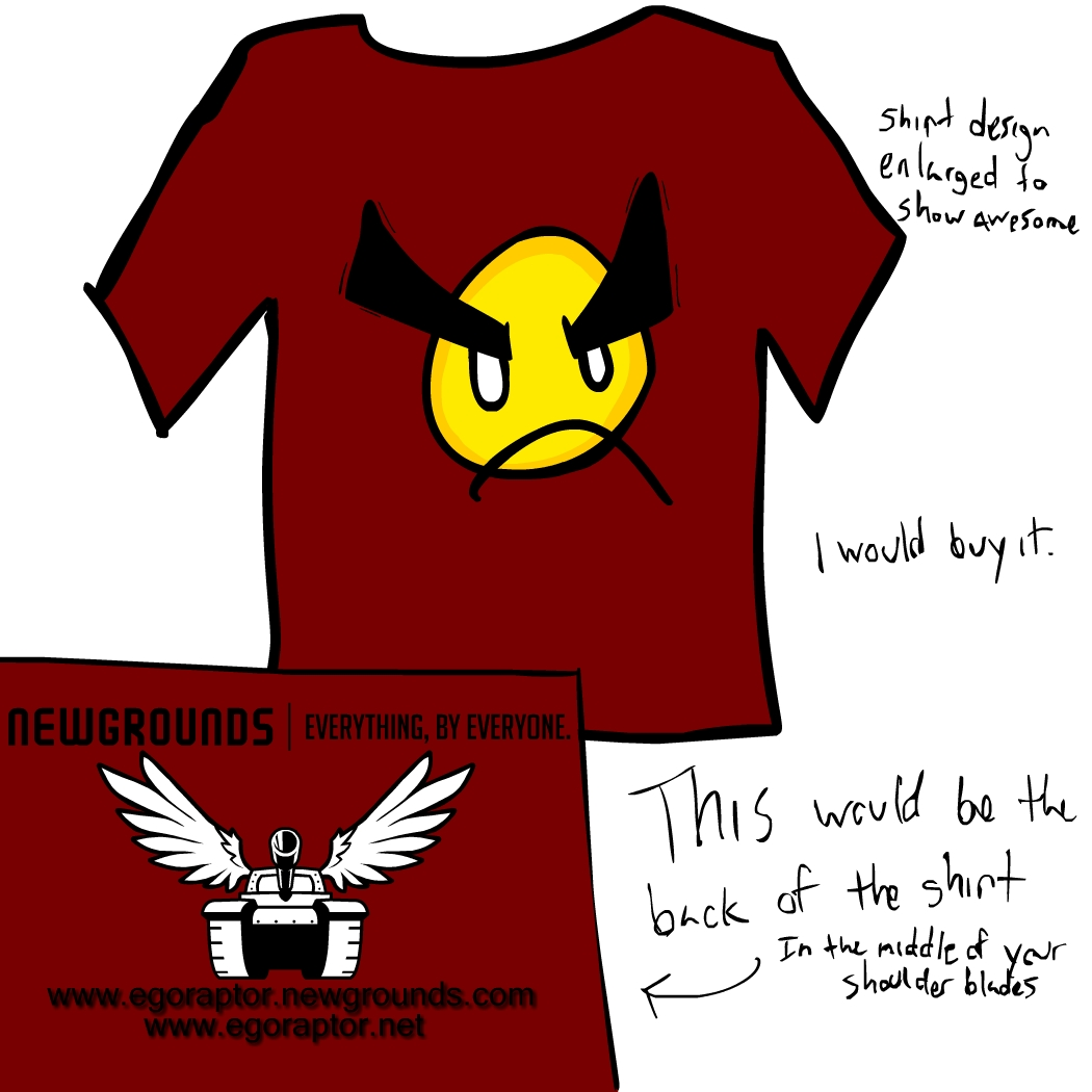 Egoraptor angry faic shirt