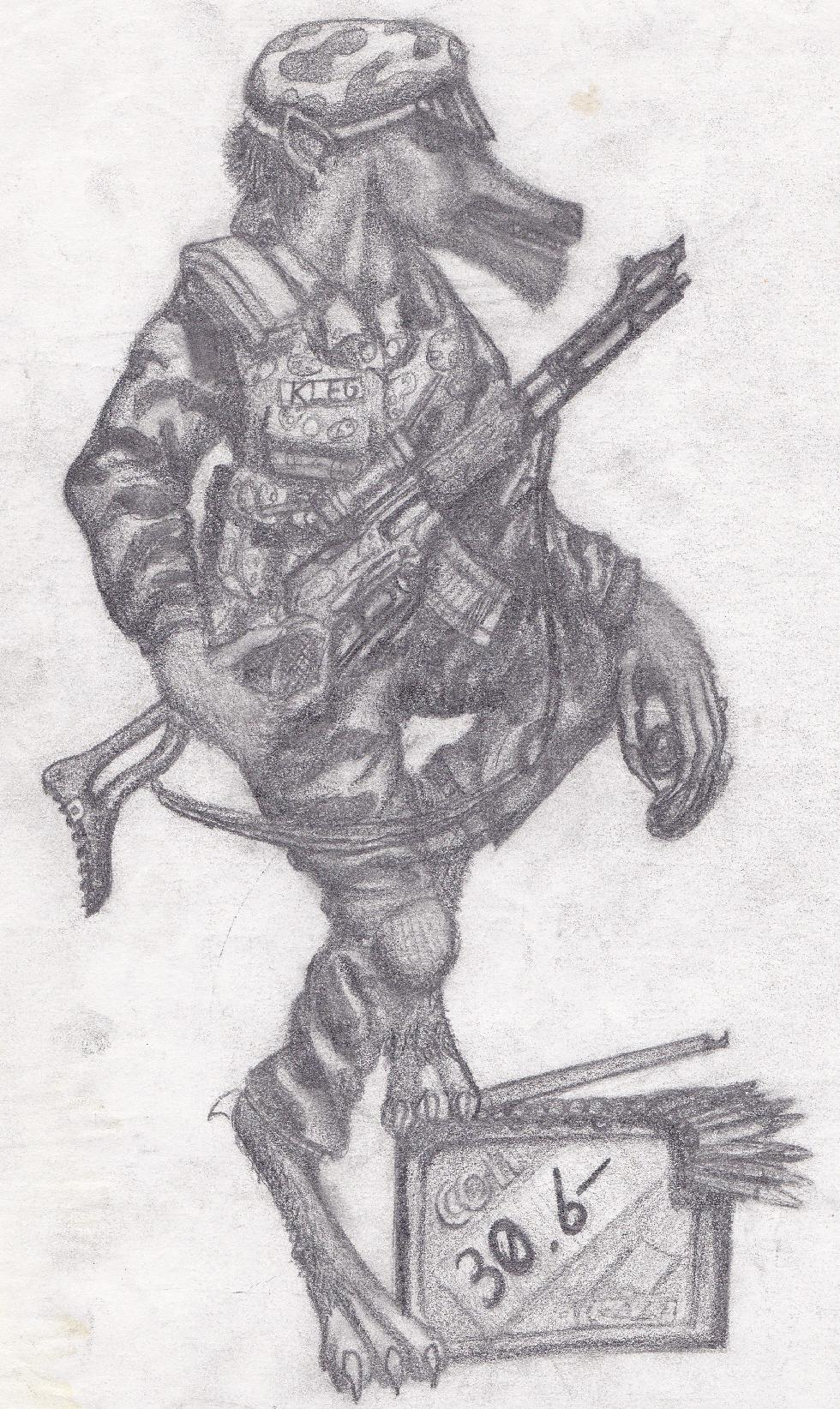 Kleg the Rifleman