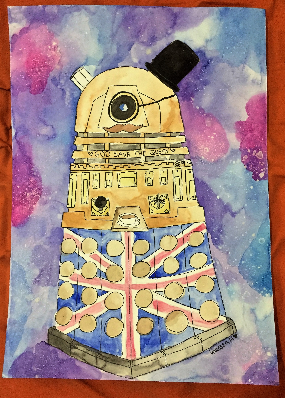 The Ultimately British Dalek