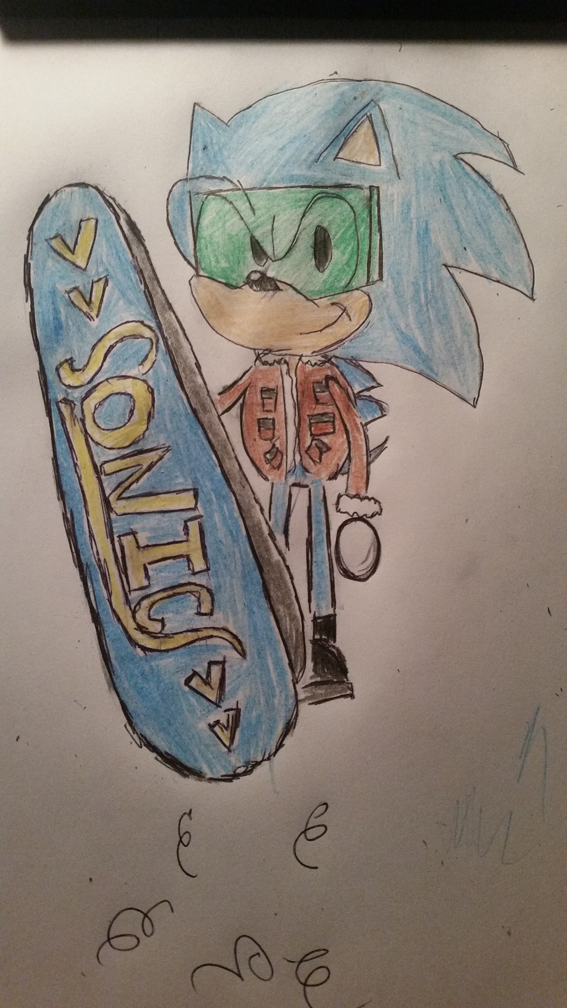 Suede Jacket Sonic