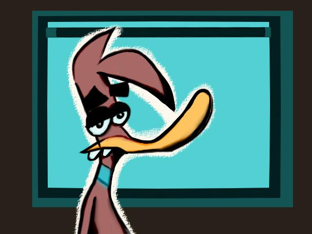 Herny's the duck fan art enjoy