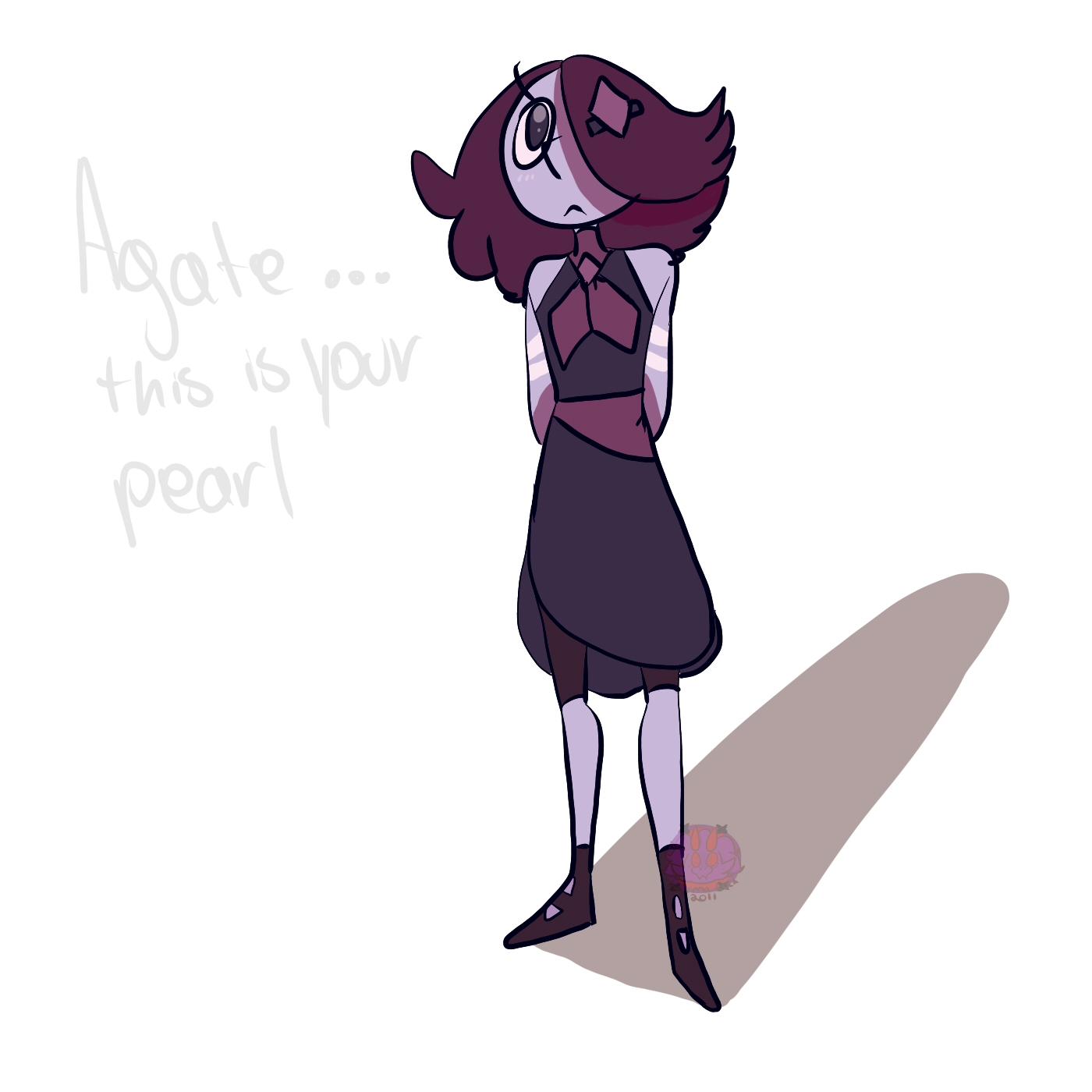 dragon vein agate pearl
