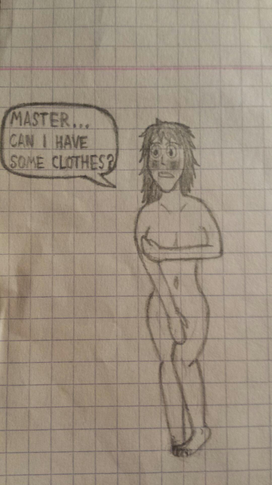 naked slave