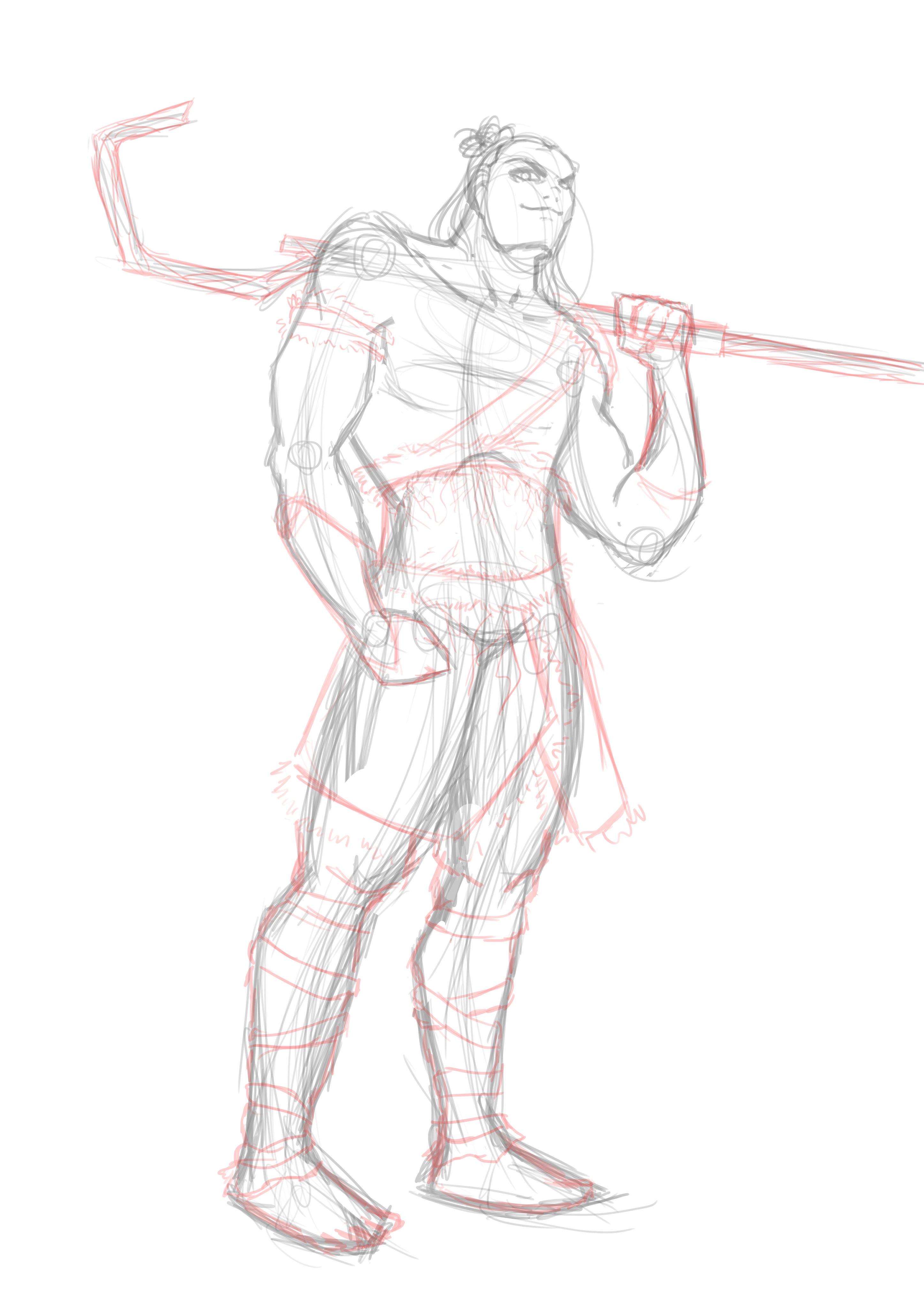 Jack Frost: Guardian Level 99 Sketch