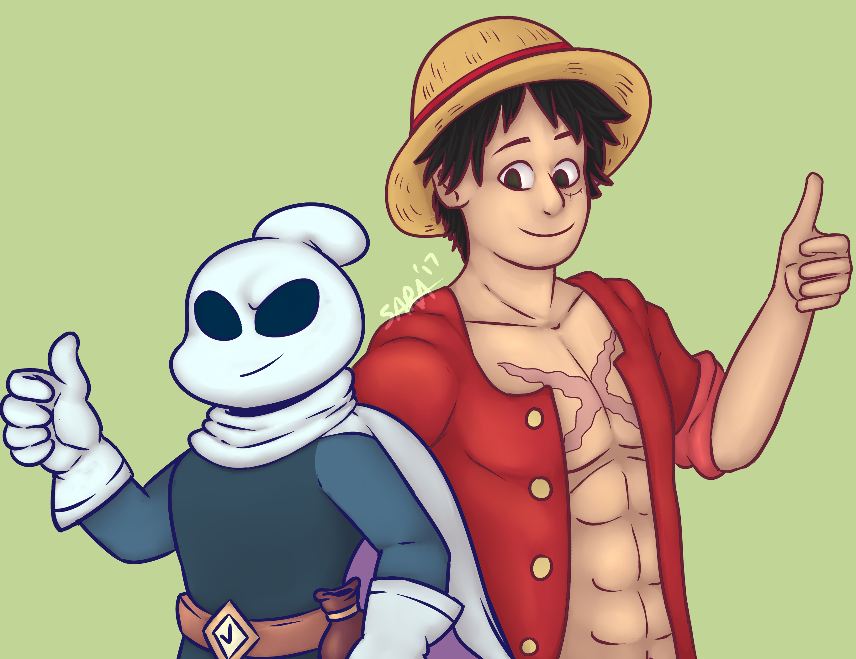 Flinthook and Luffy