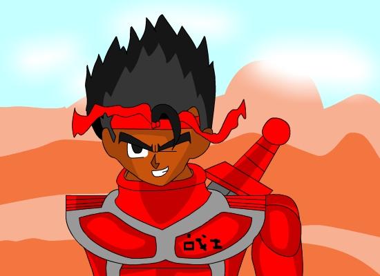 My Original Dragon Ball Character (Zhanshi)