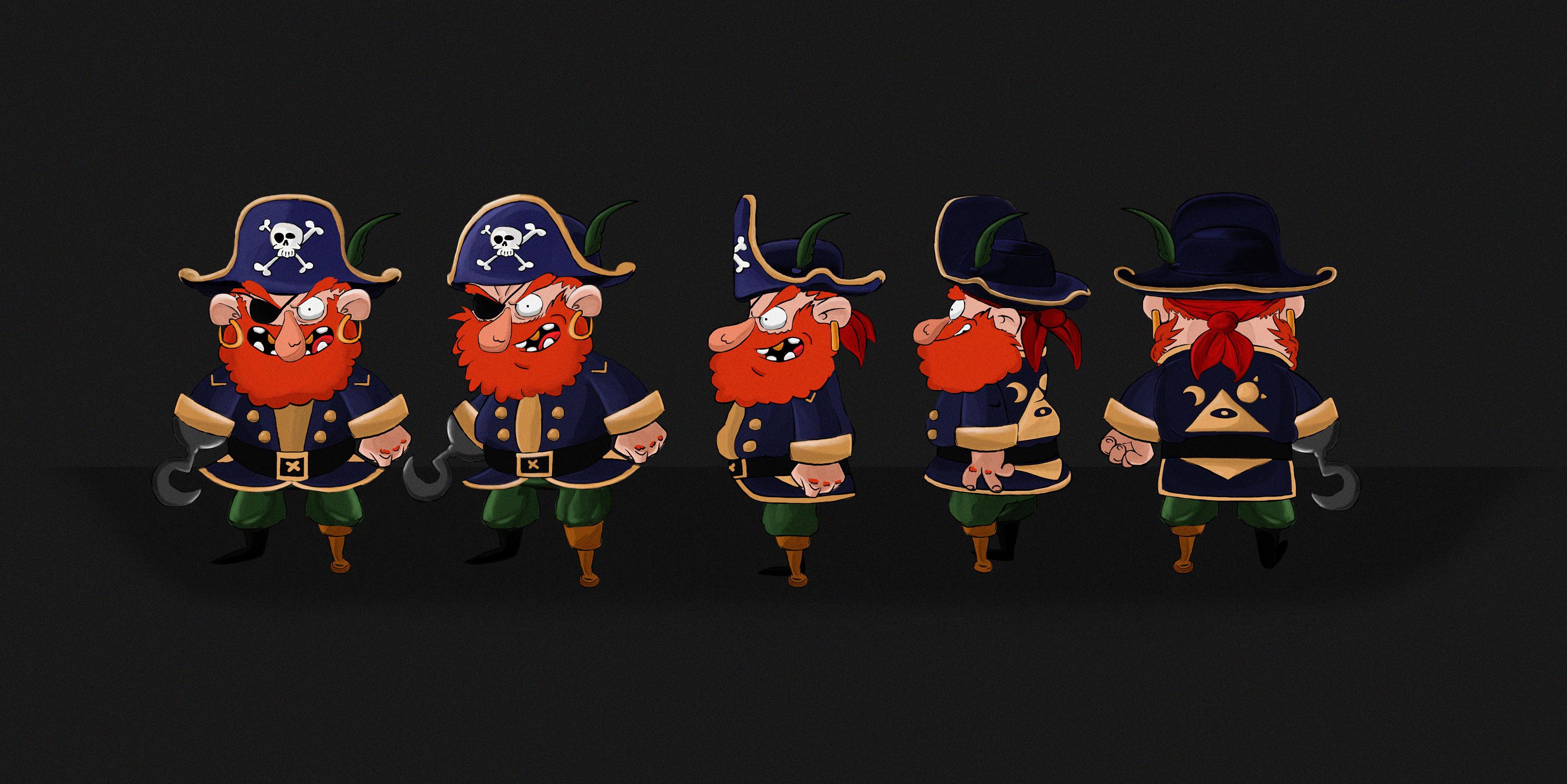 Avast Ye Matey - Conceptual Pirate