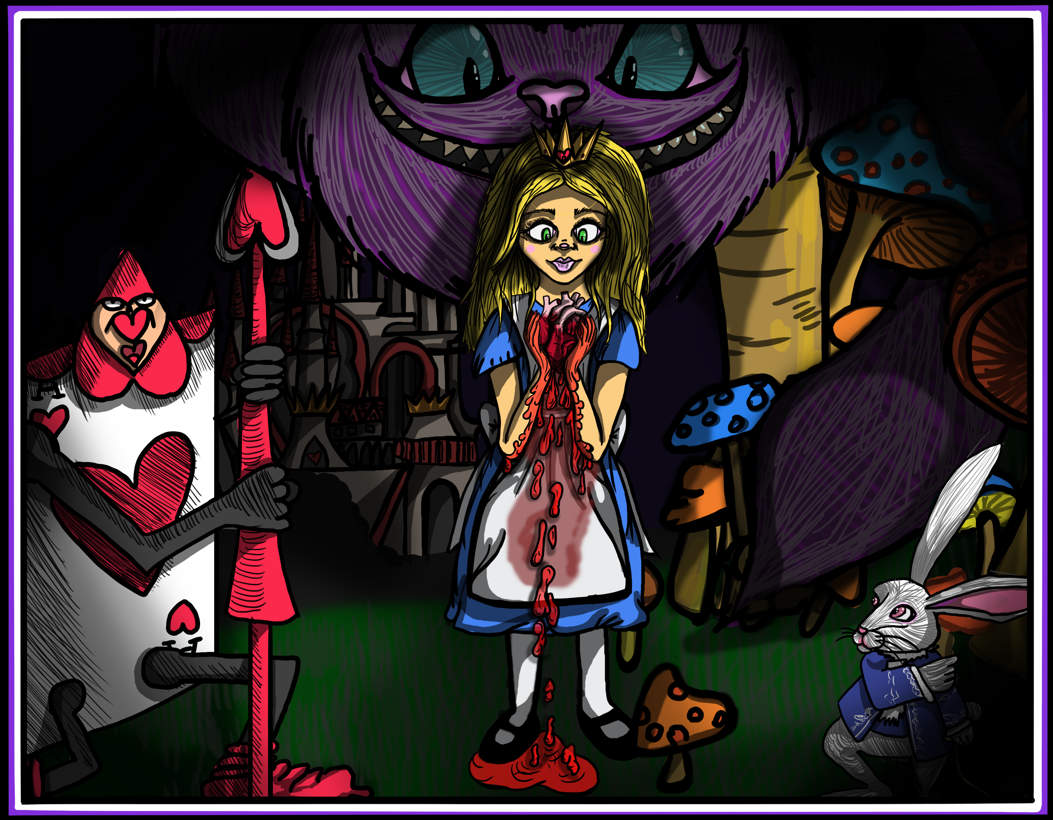 The Queen of Hearts… Alice at a level cap lvl99