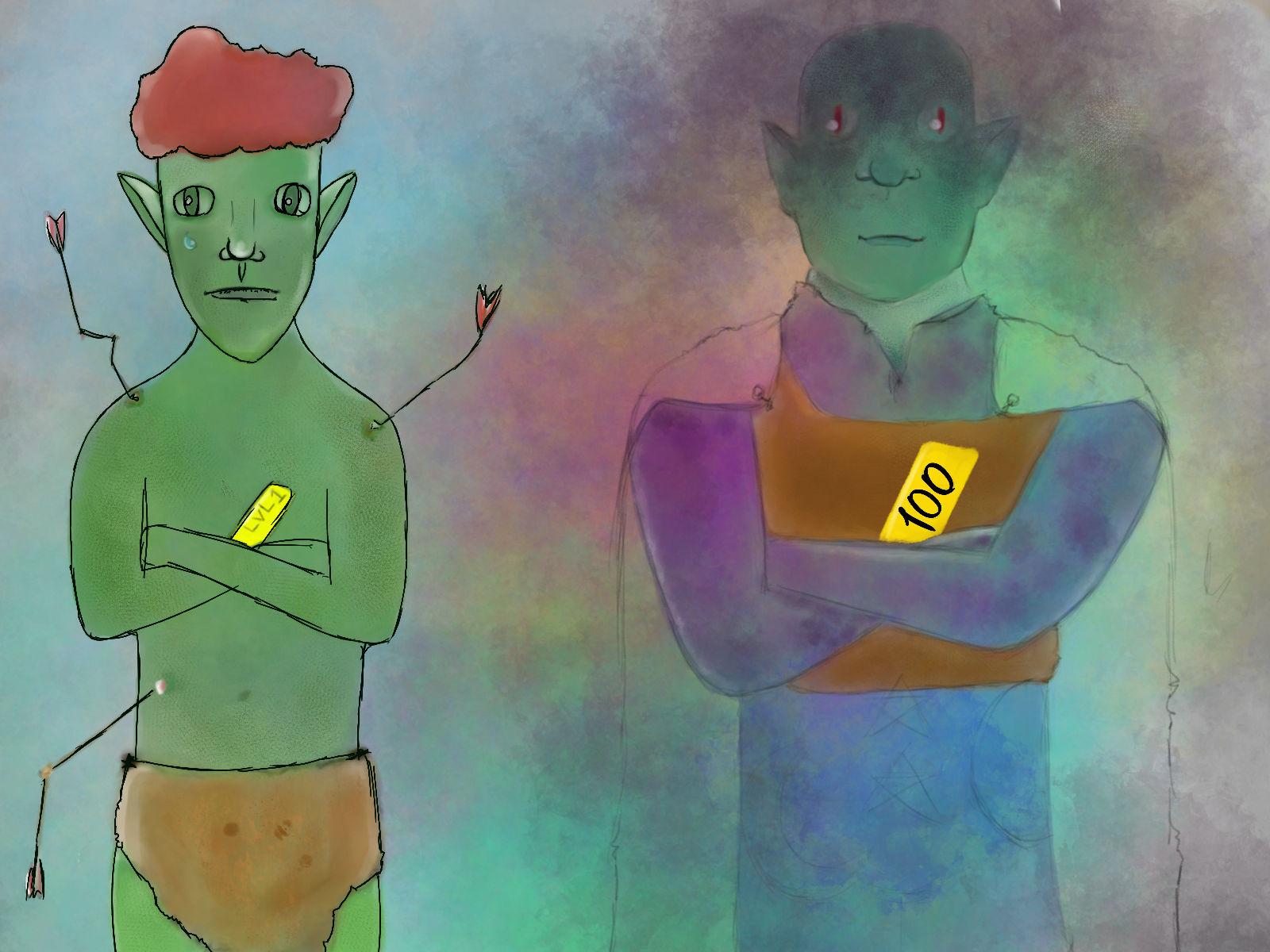 The mysterious elves (LVL CAP)