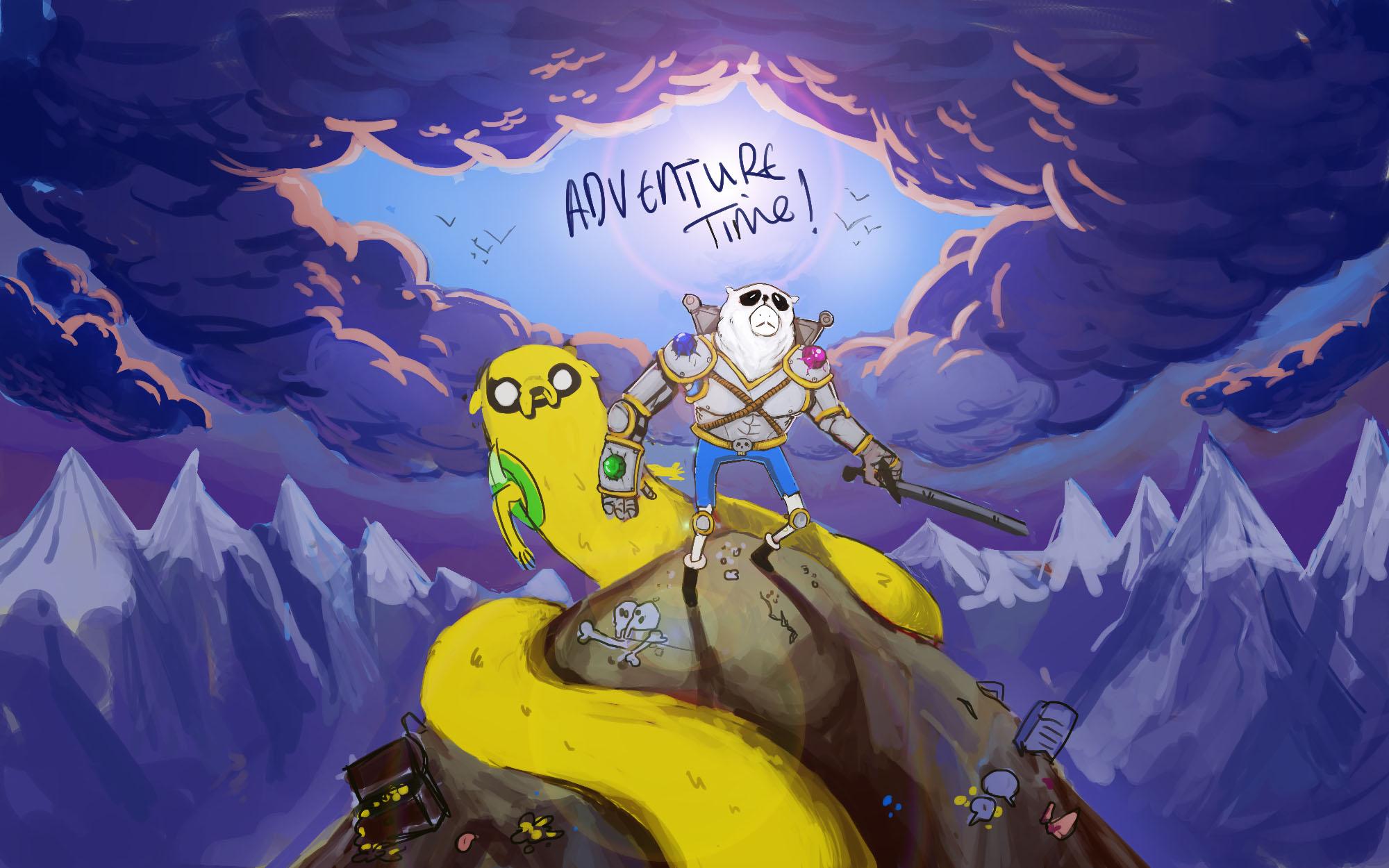 adventure time remake