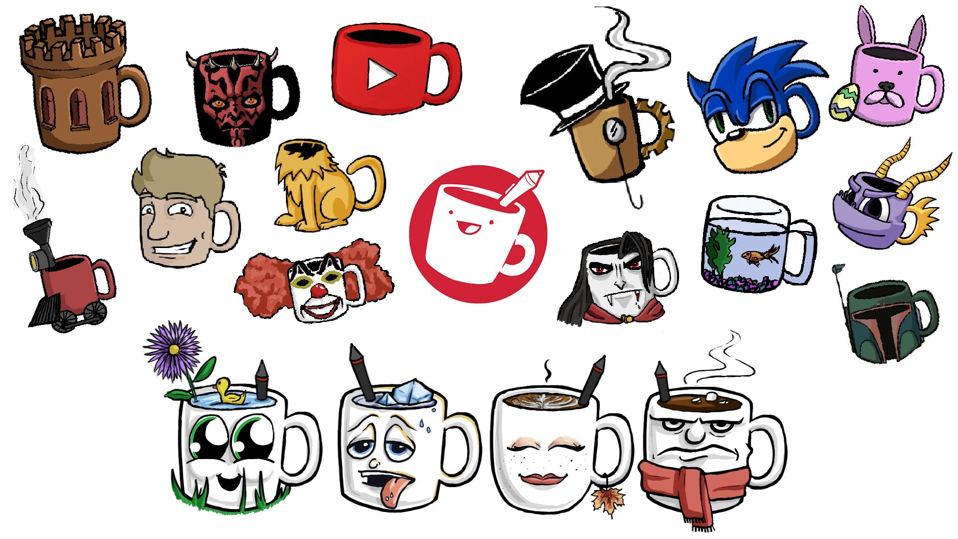 Drawfee Mugs