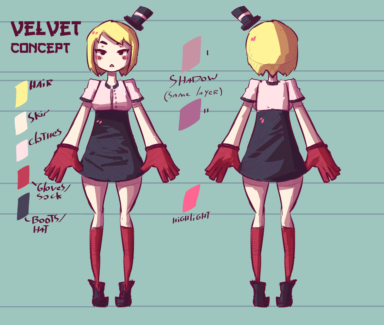 Velvet concept
