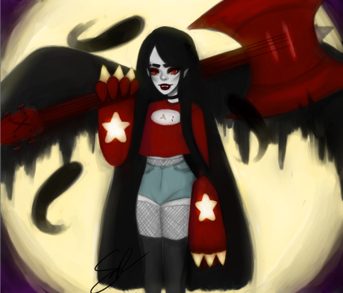Marcy Gets Amped Up