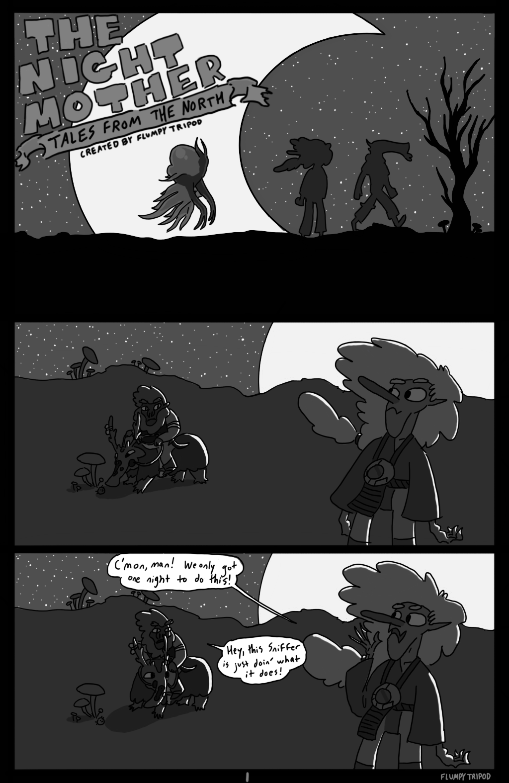 Tales from the North 1 - The Night Mother (Page 1)