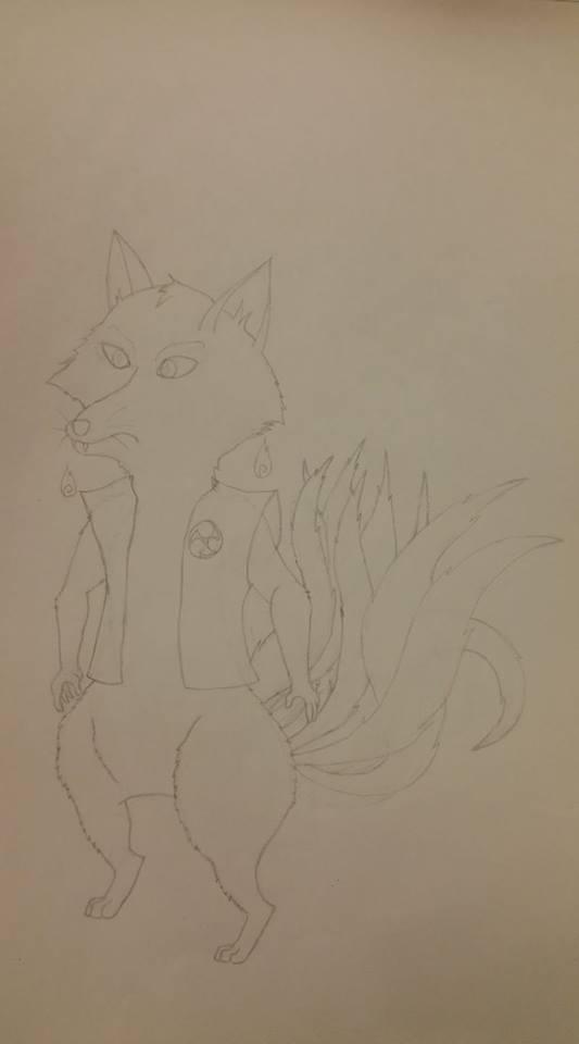Takeru (Light Outline Sketch)