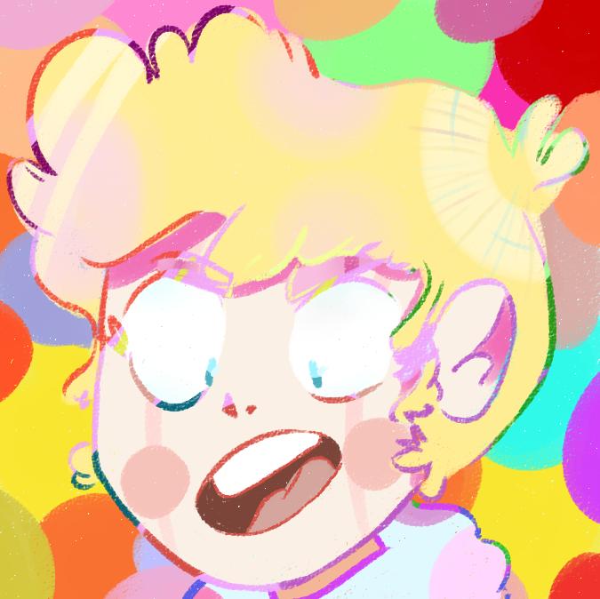 colorful shout!