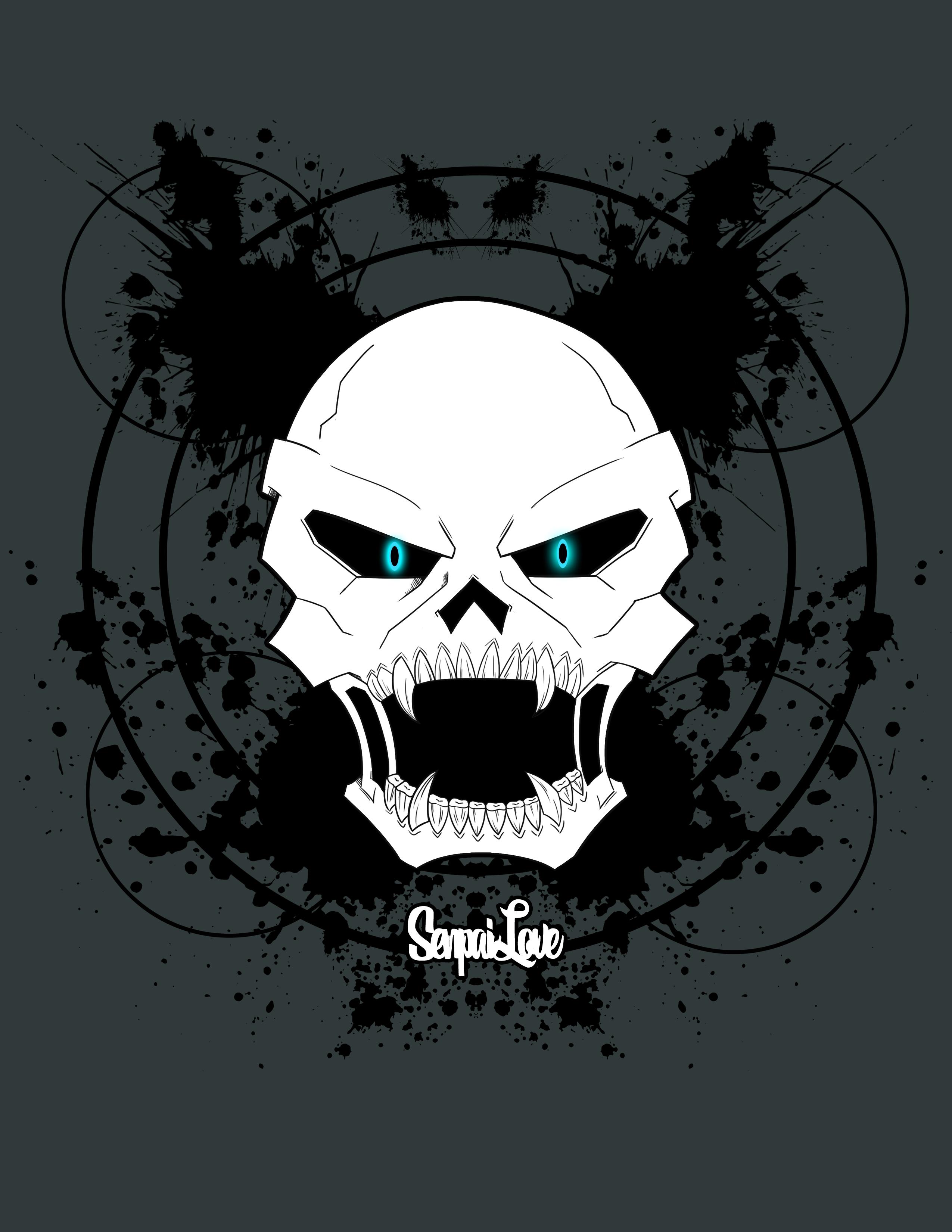 SenpaiLove Skull