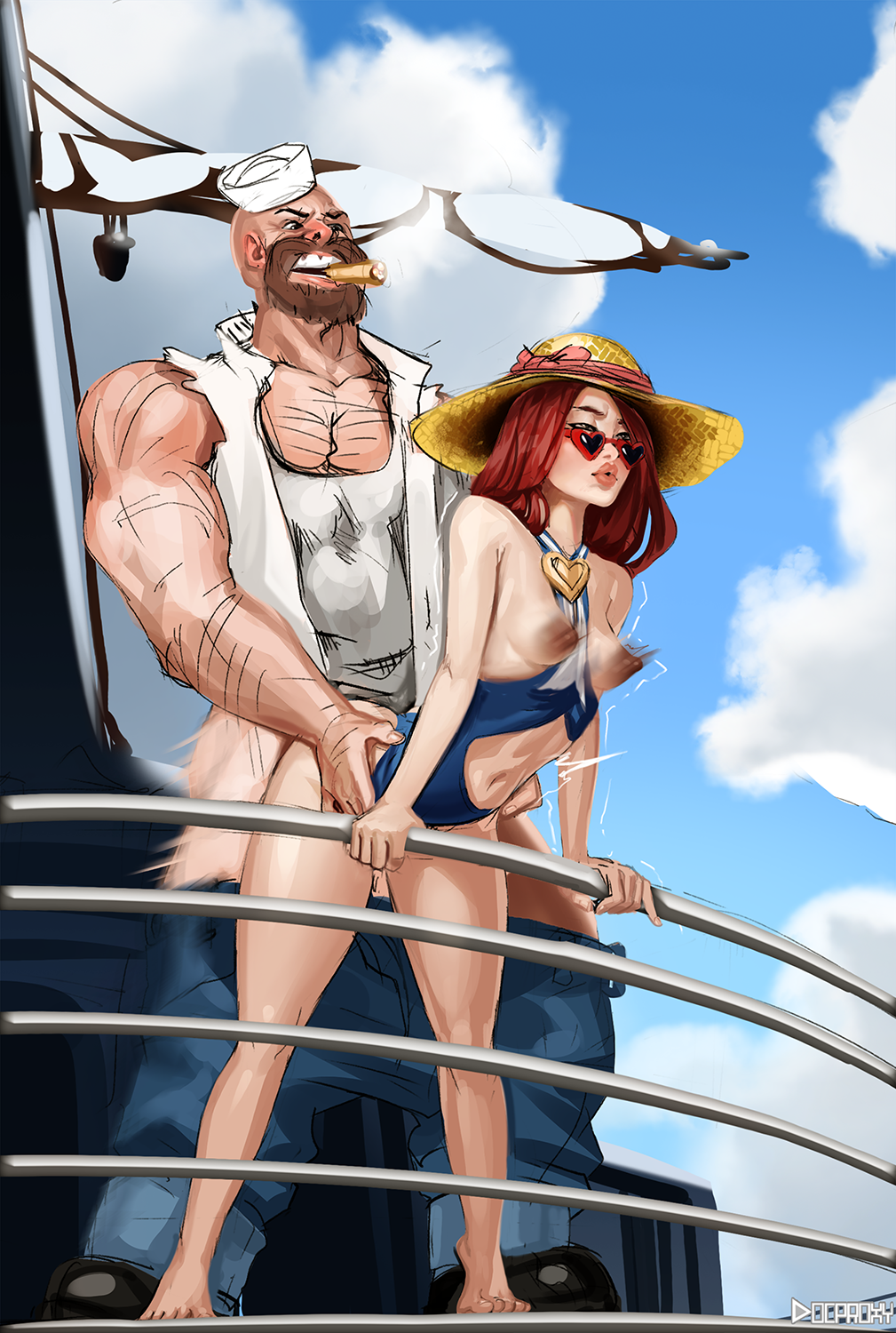 Miss Fortune at Sea
