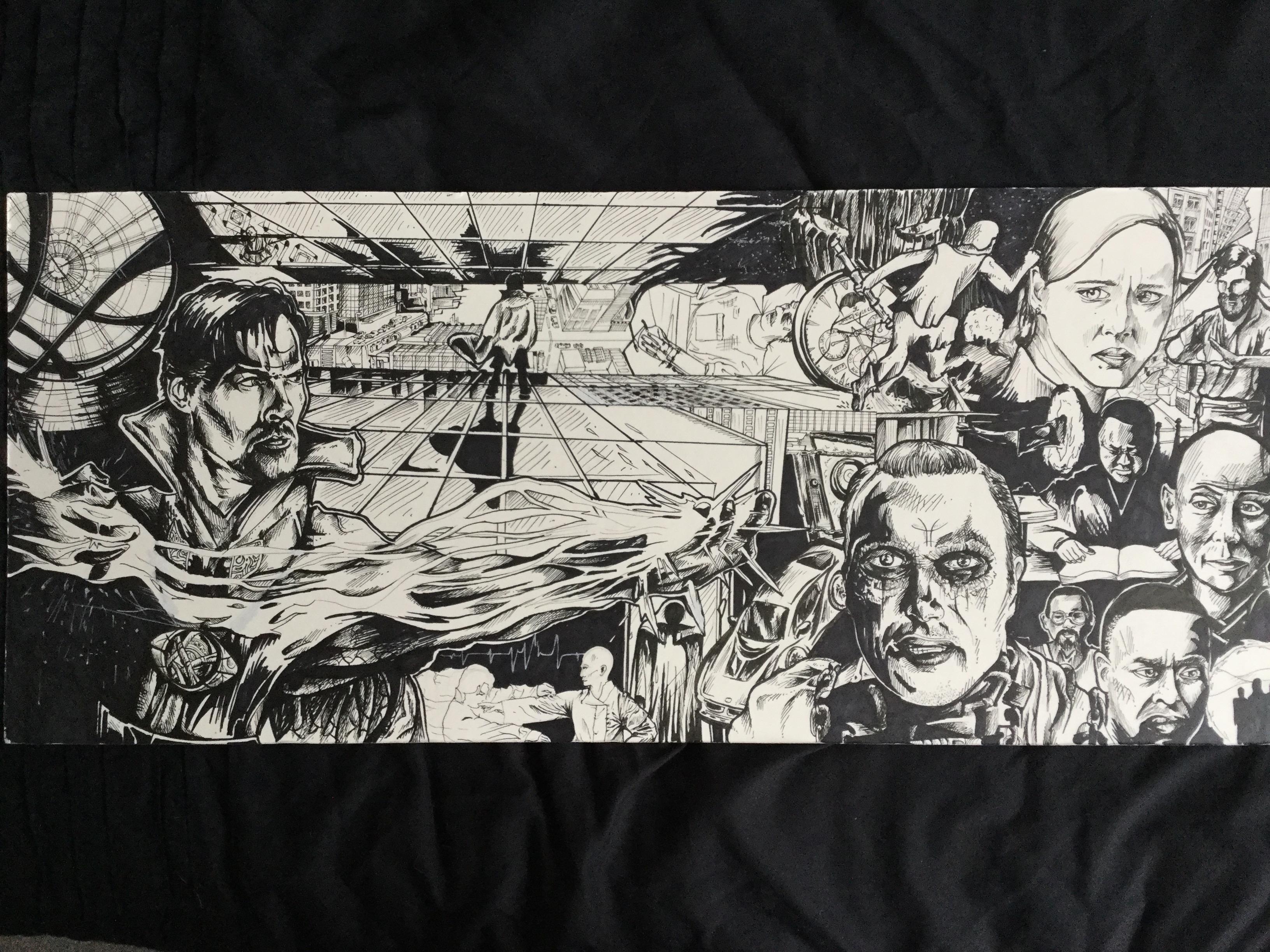 Doctor Strange mural