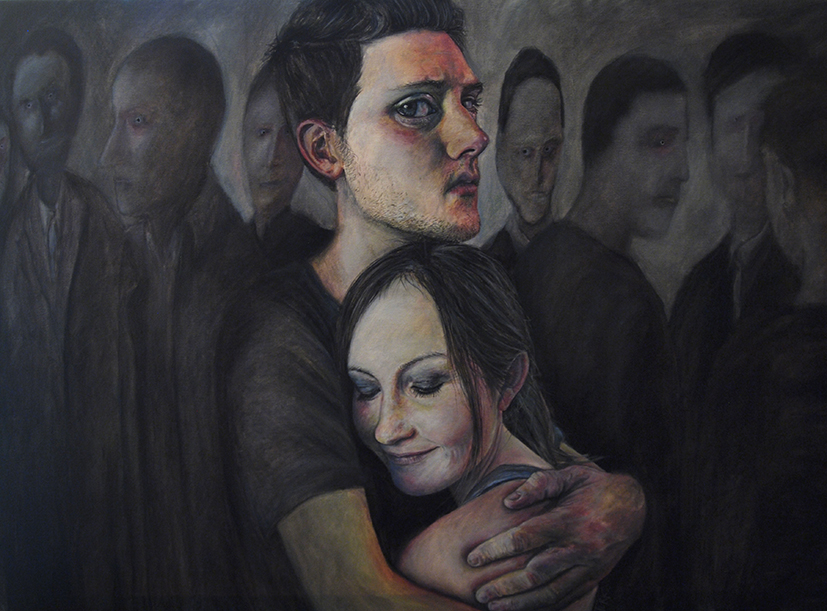 'Possession' - Oil on canvas