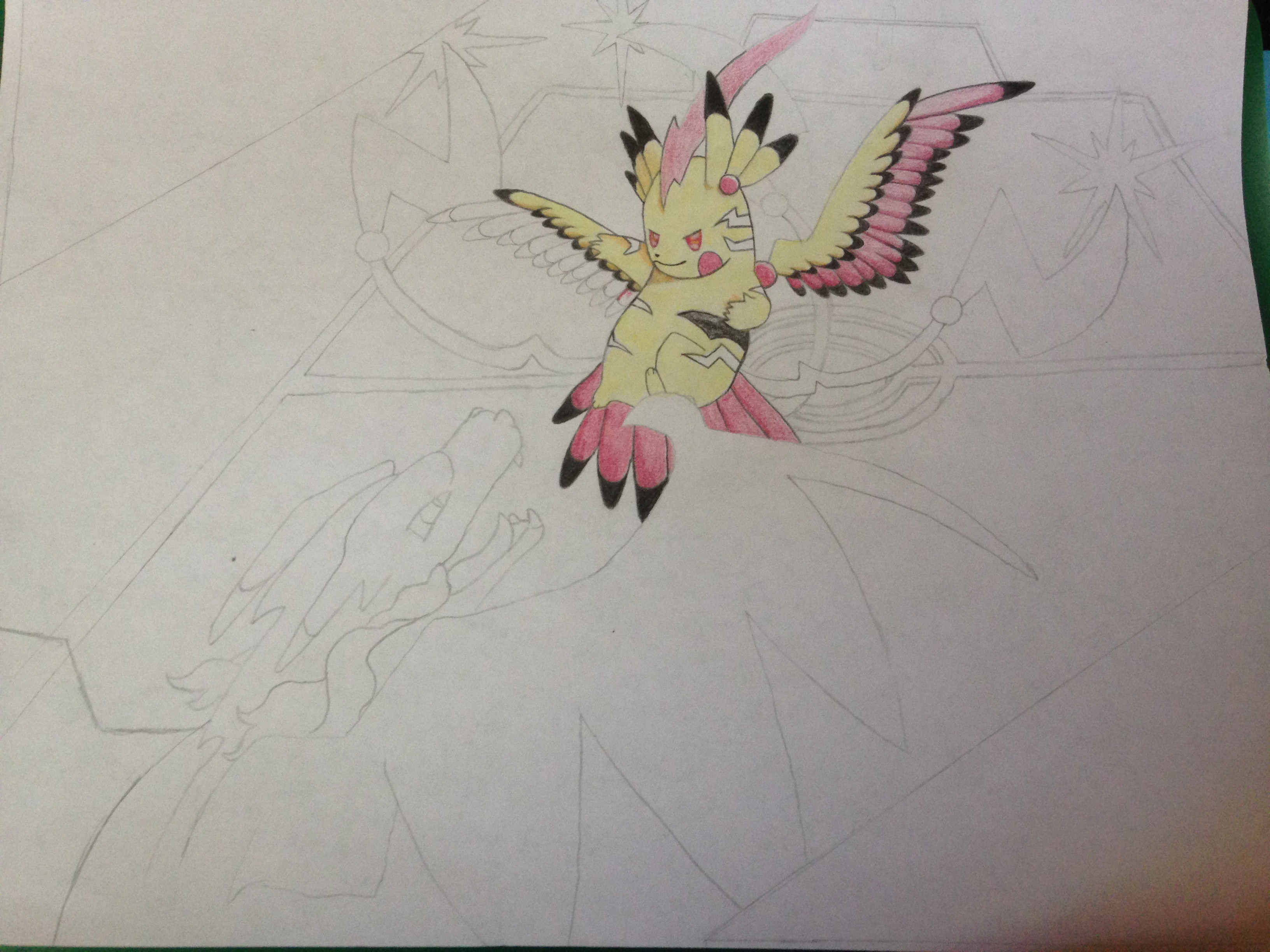 Pikachu color