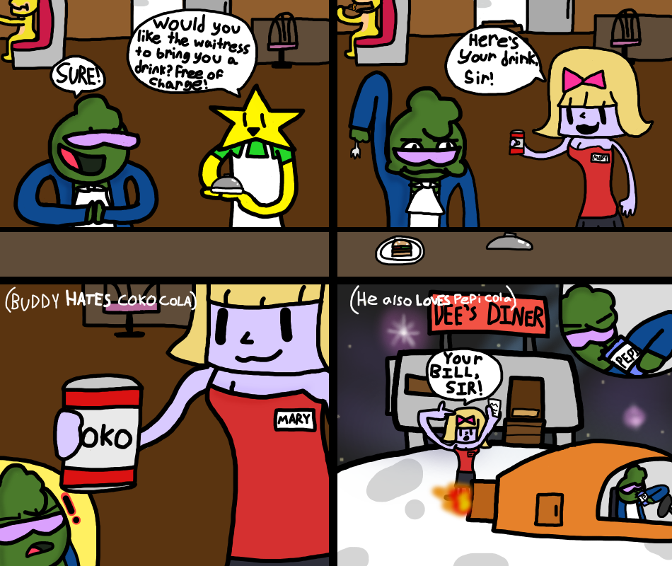 Buddy No.3 Cola Woes