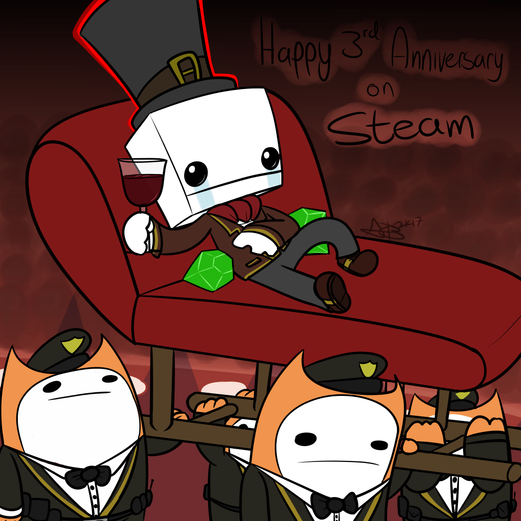 3 years of killing your friends on STEAM!