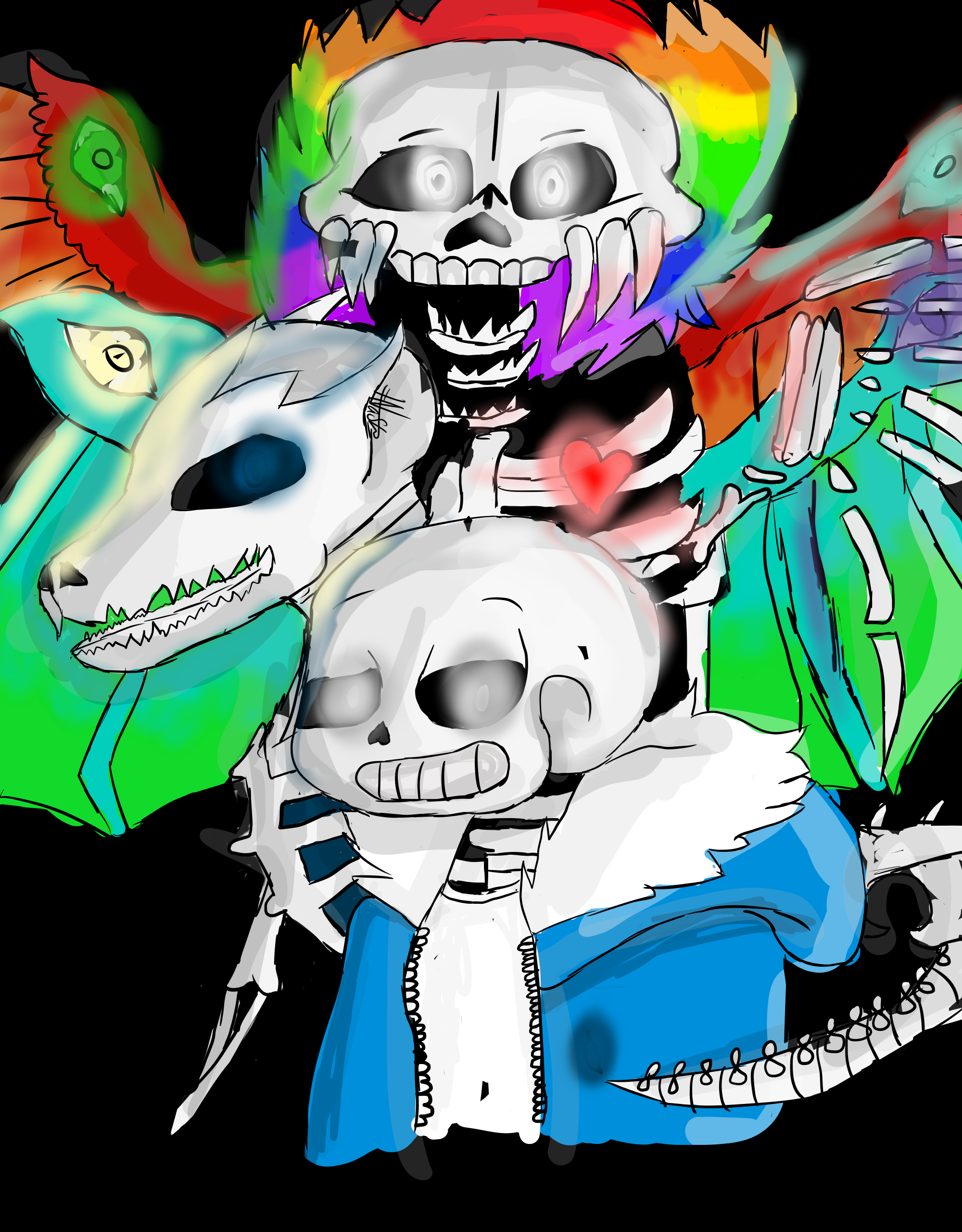 Skeletons...Dragons...Thoughts