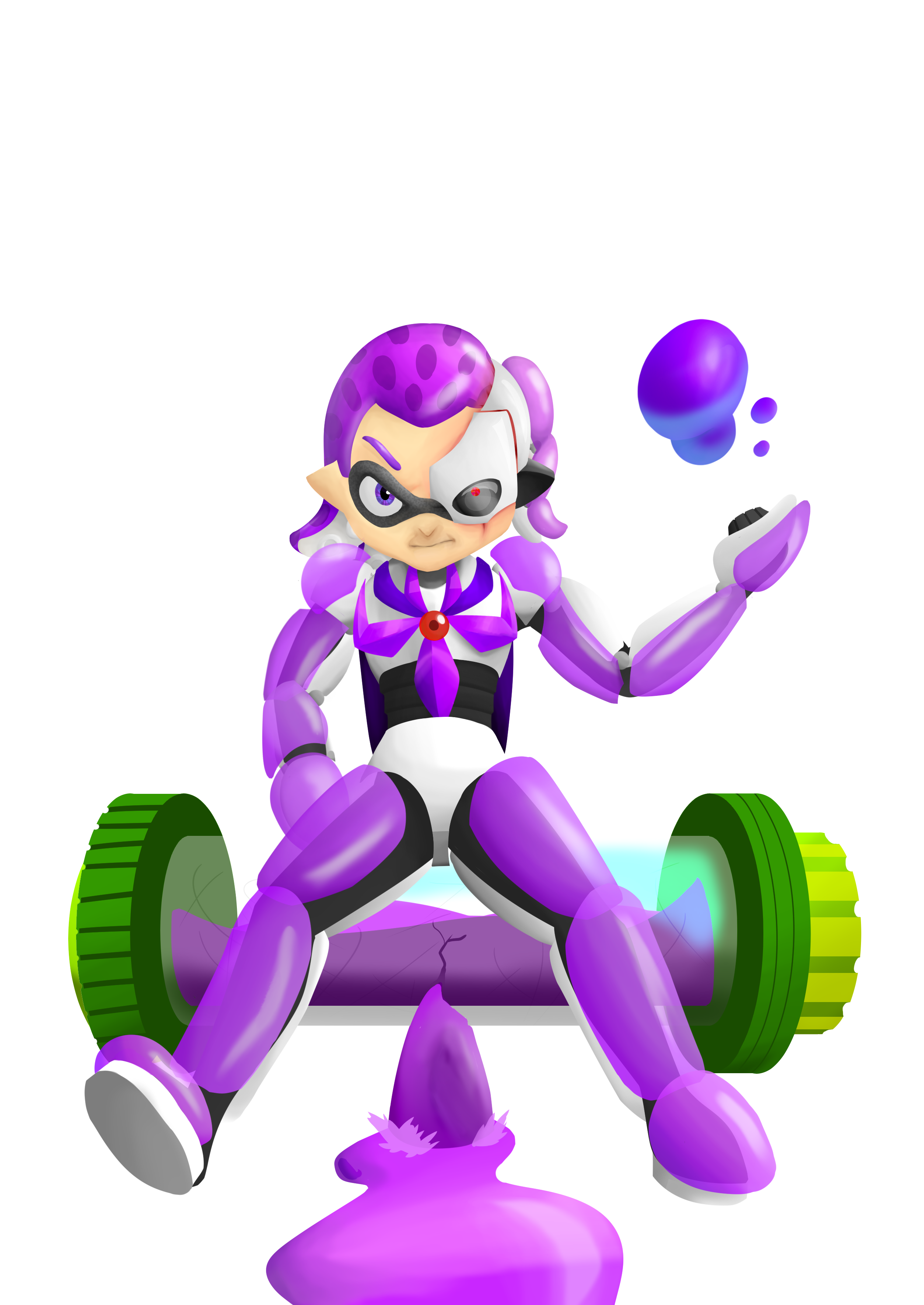 Character: Level 99 Squid Kid - Jazza's Challenge of the Month