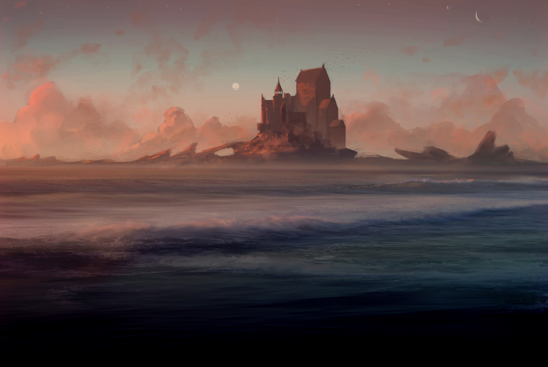 Castle on the Ocean