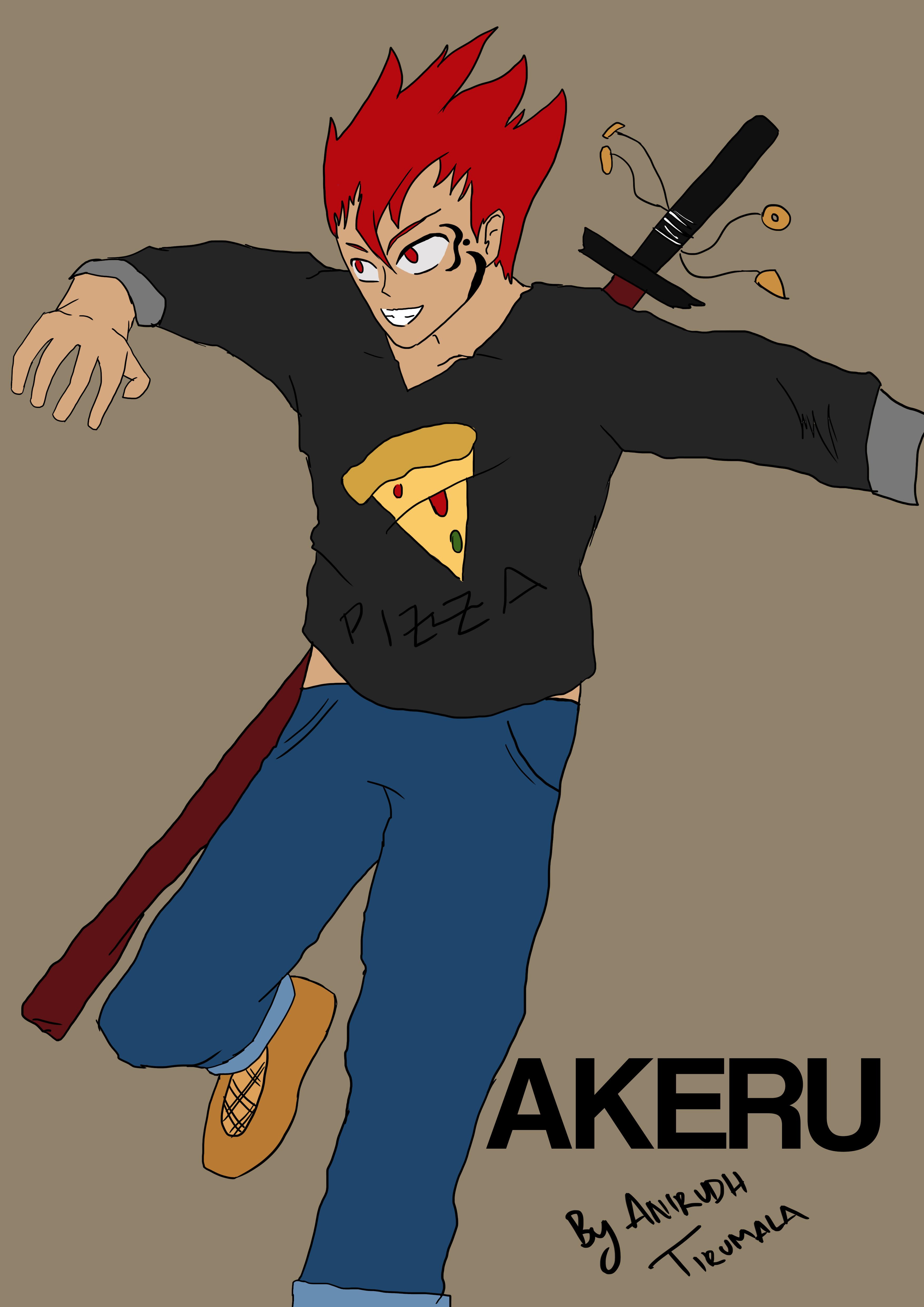 Akeru Character design